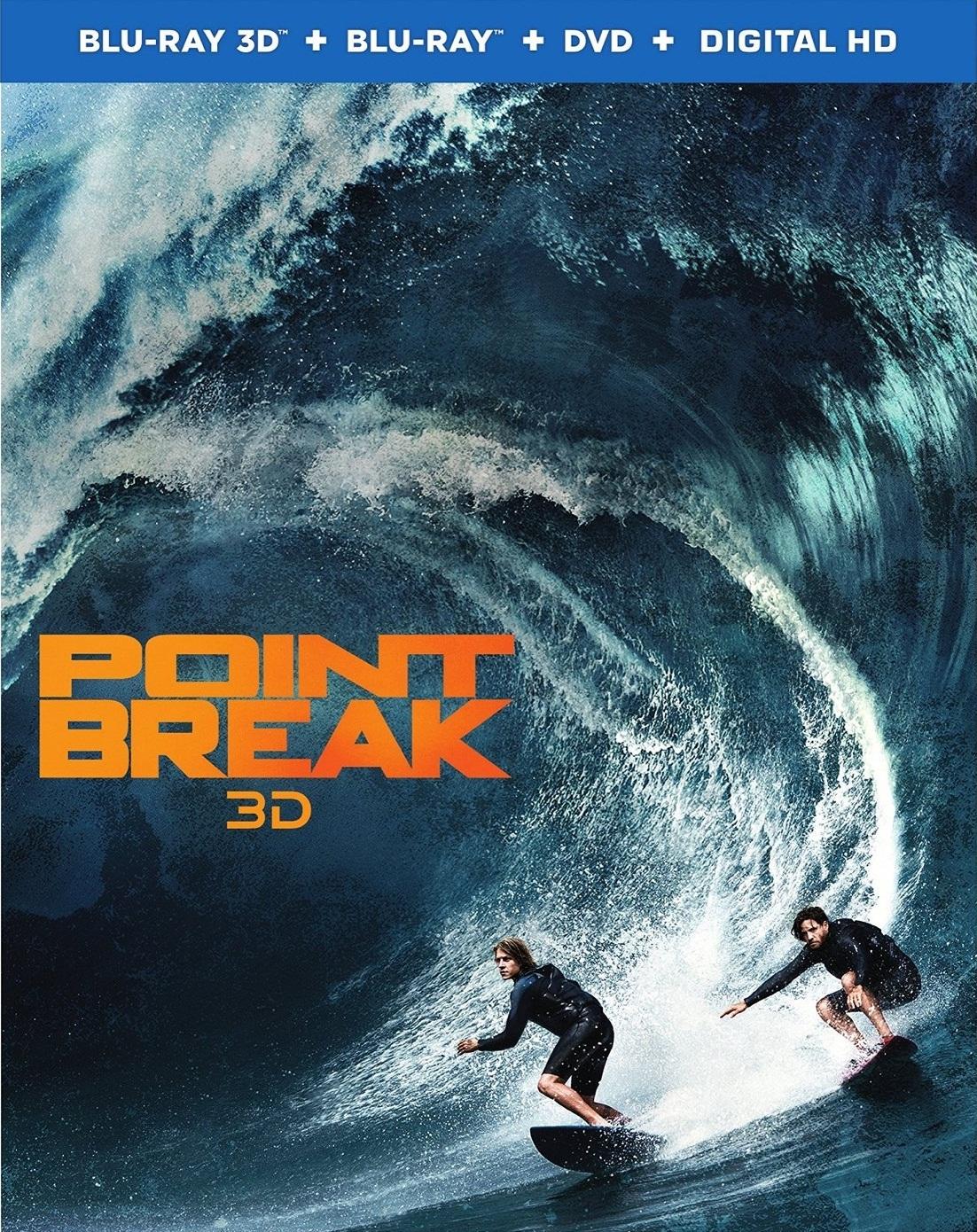Point Break 3D (2015) Blu-ray 3D