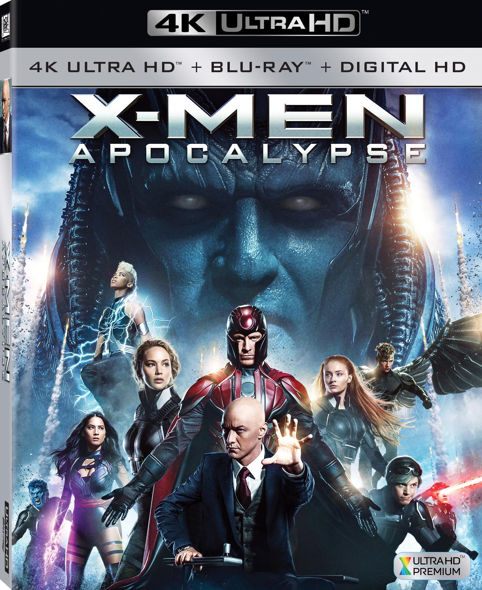 X-Men: Apocalypse (2016) 4K Ultra HD Blu-ray
