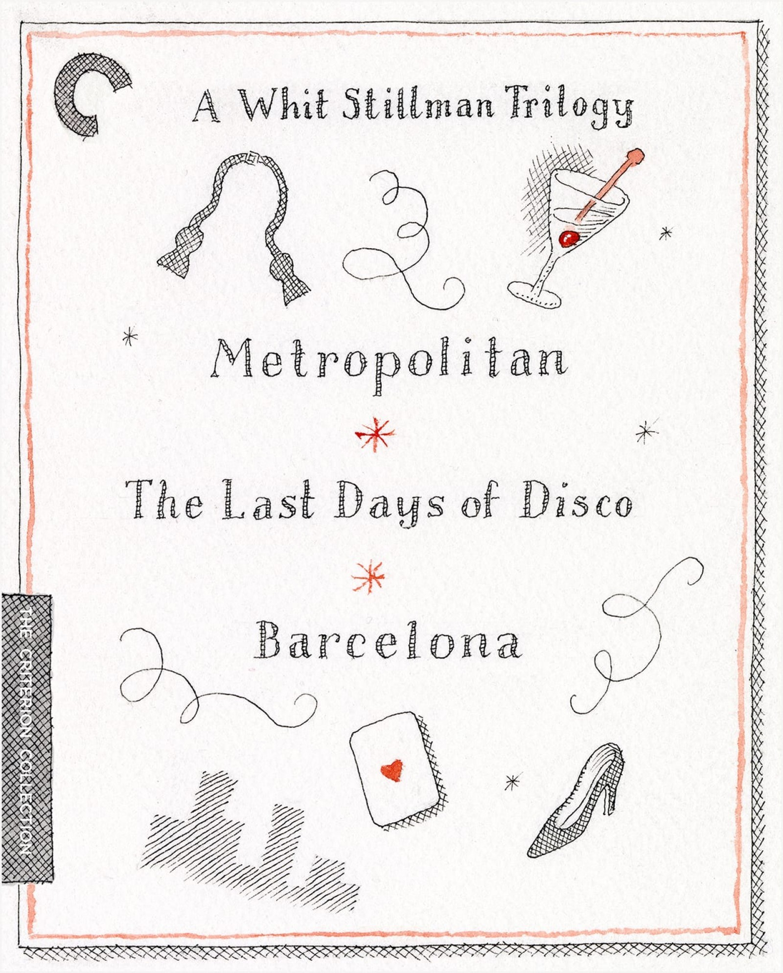 A Whit Stillman Trilogy: Metropolitan / Barcelona / The Last Days of Disco (1990-1998) The Criterion Collection Blu-ray