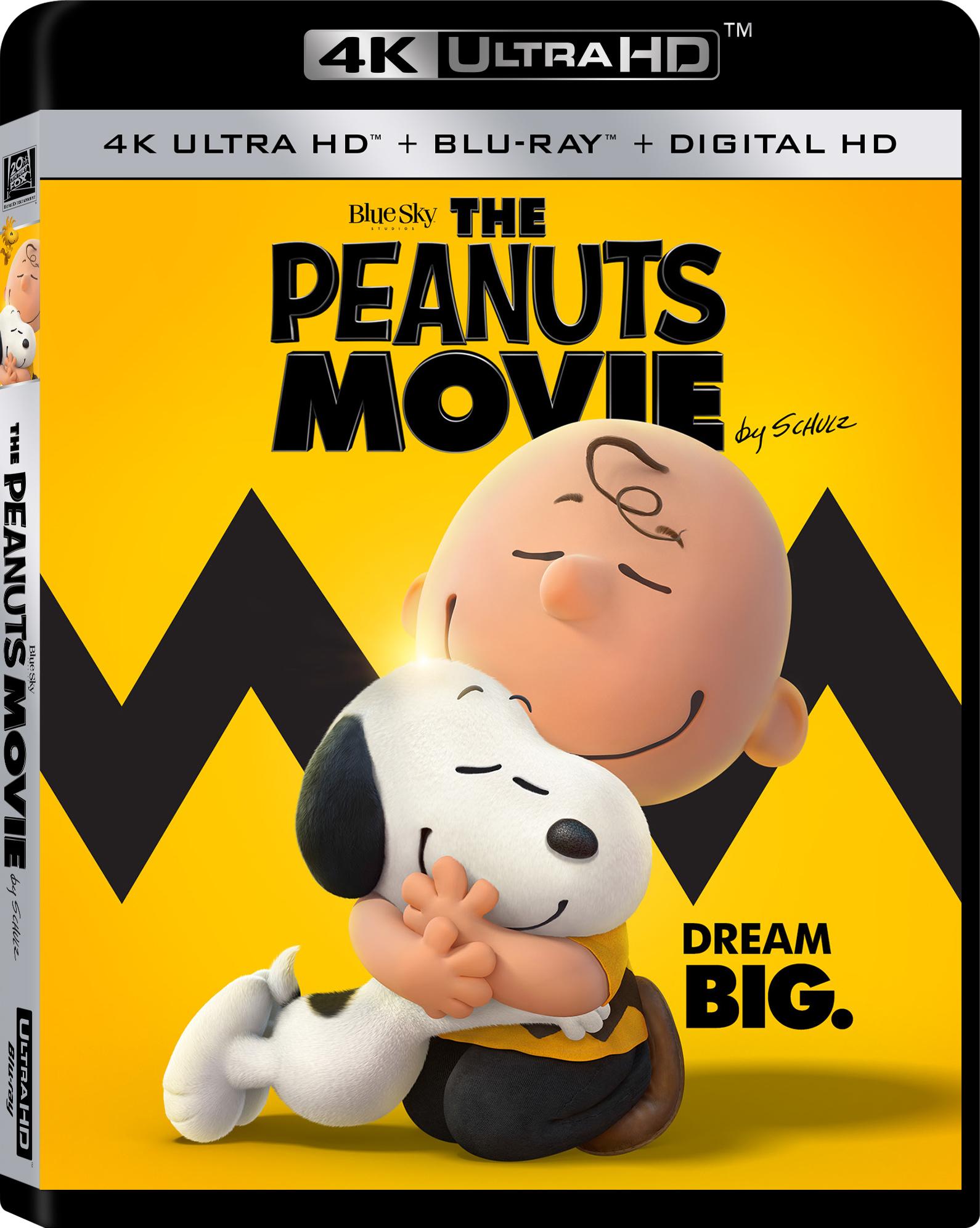 The Peanuts Movie 4K (2015) 4K Ultra HD Blu-ray