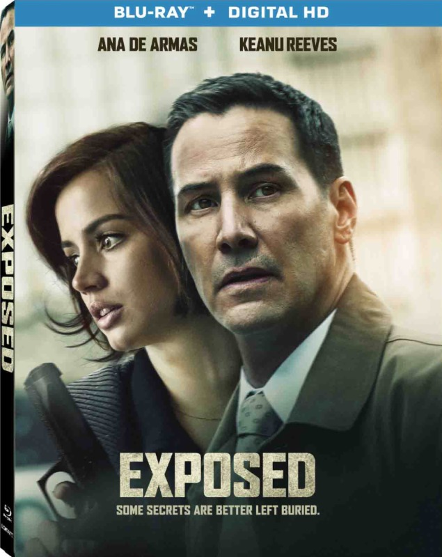 Exposed (2016) Blu-ray