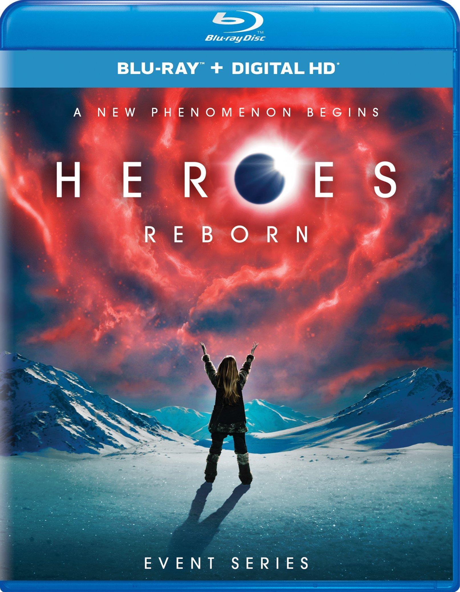 Heroes Reborn: Event Series (TV) (2015-2016) Blu-ray