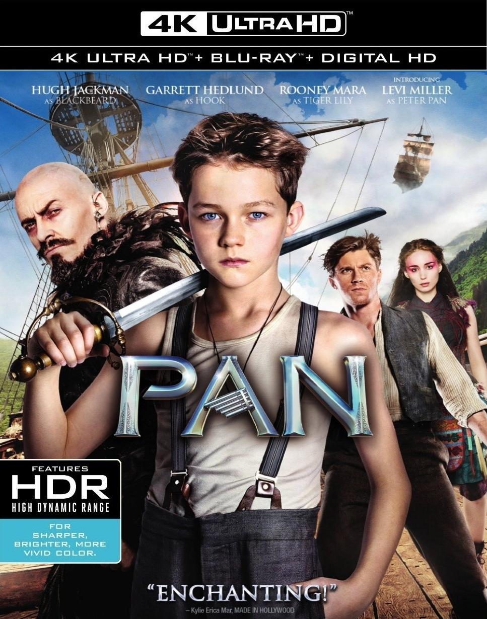 Pan (2015) 4K Ultra HD Blu-ray