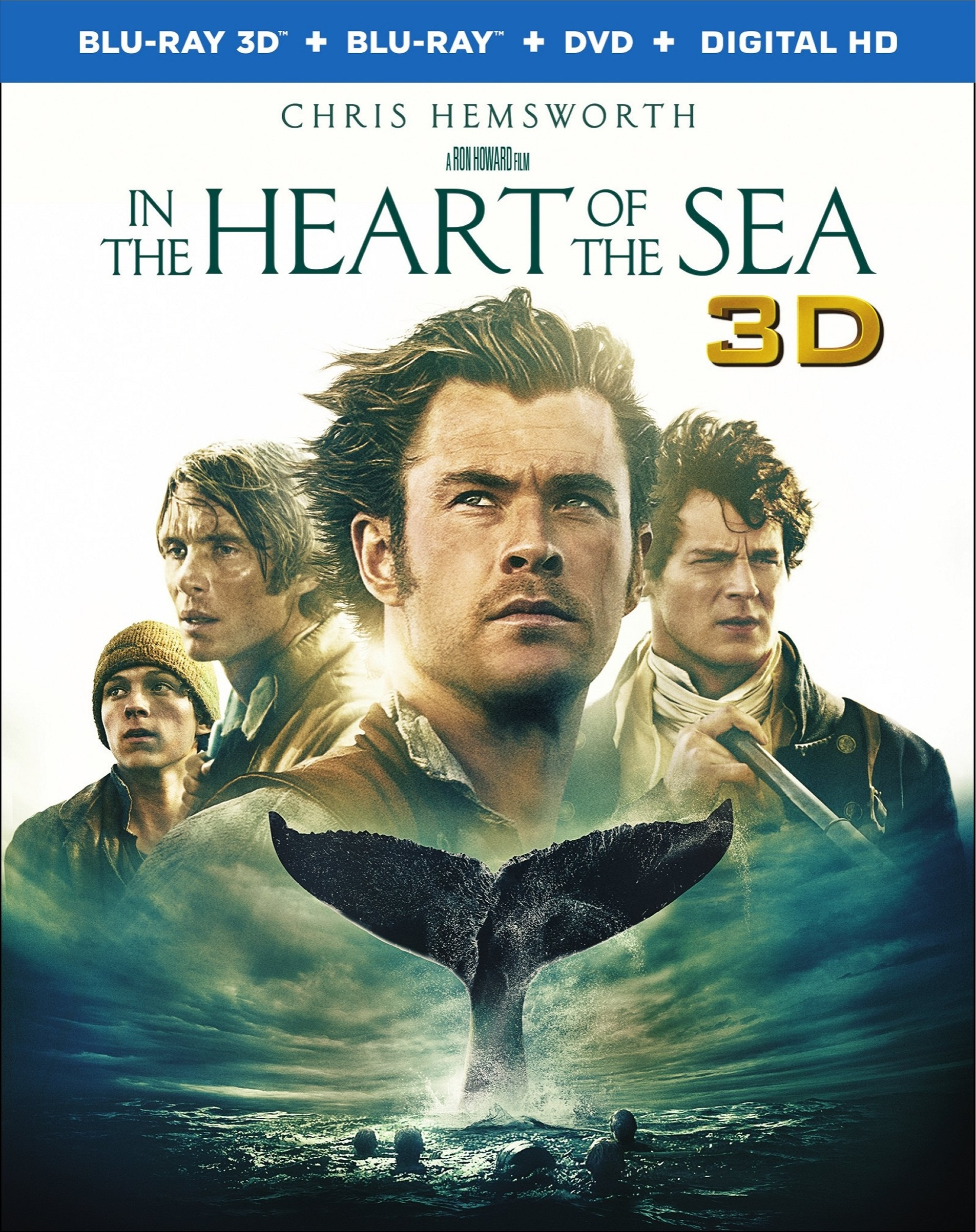 In the Heart of the Sea 3D (2015) Blu-ray