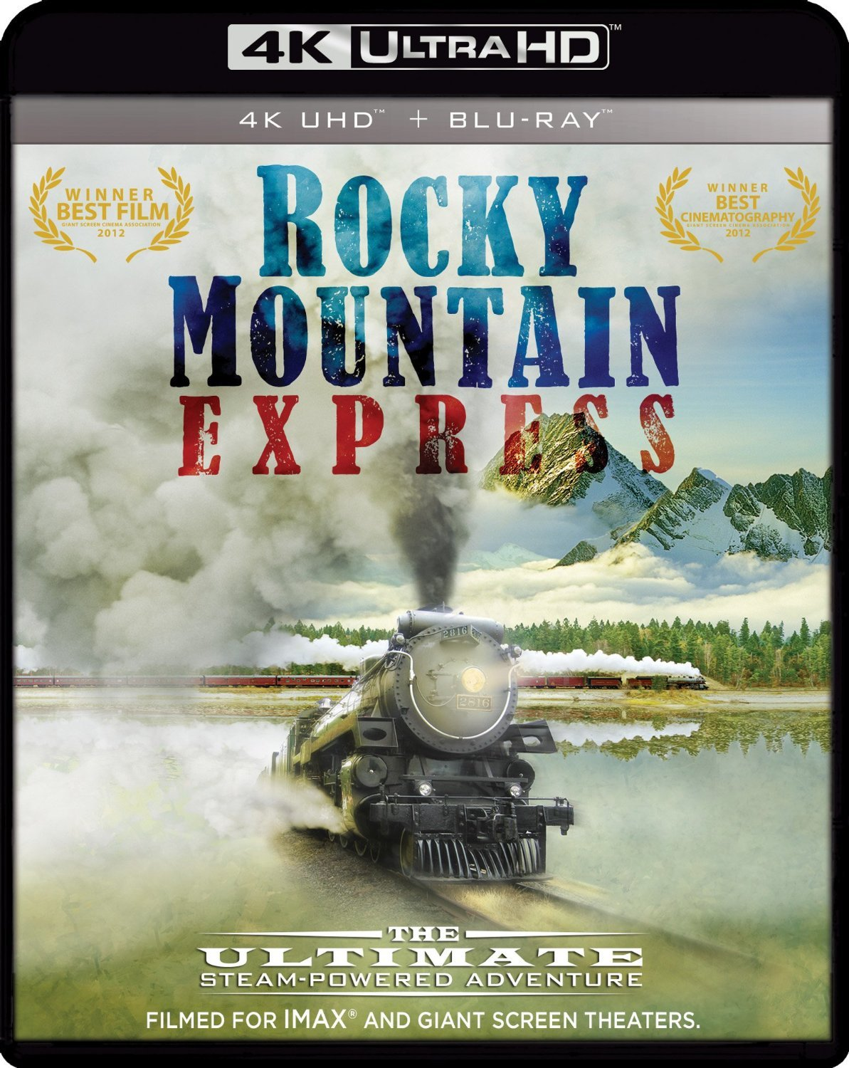 Rocky Mountain Express 4K (2011) 4K Ultra HD Blu-ray