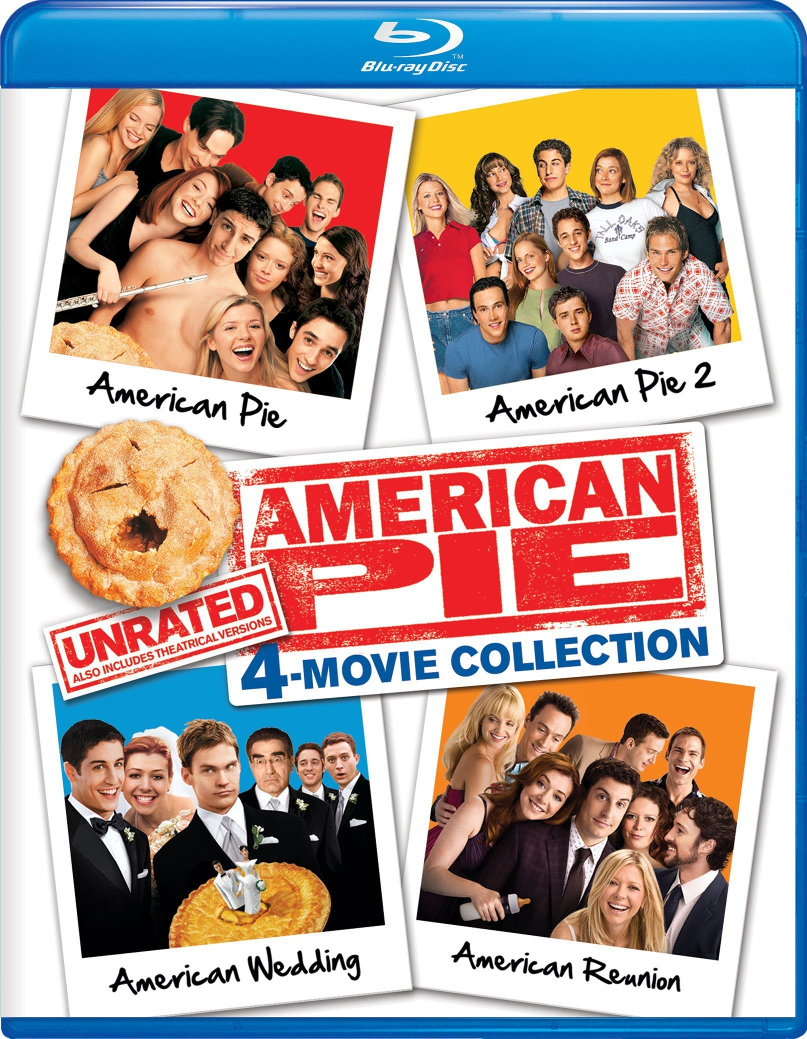 American Pie Unrated 4-Movie Collection (1999-2012) Blu-ray