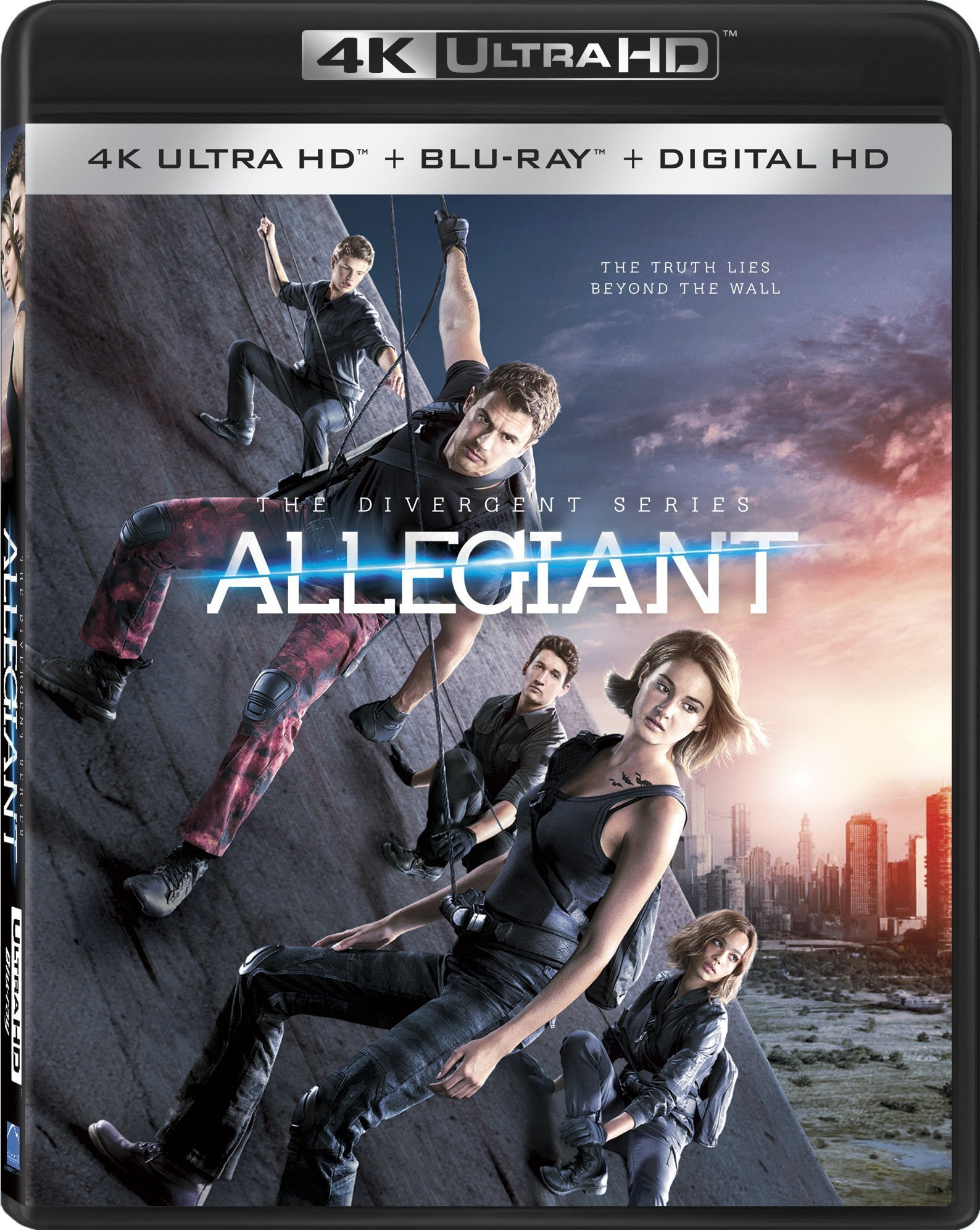 Allegiant (The Divergent Series)(2016) 4K Ultra HD Blu-ray
