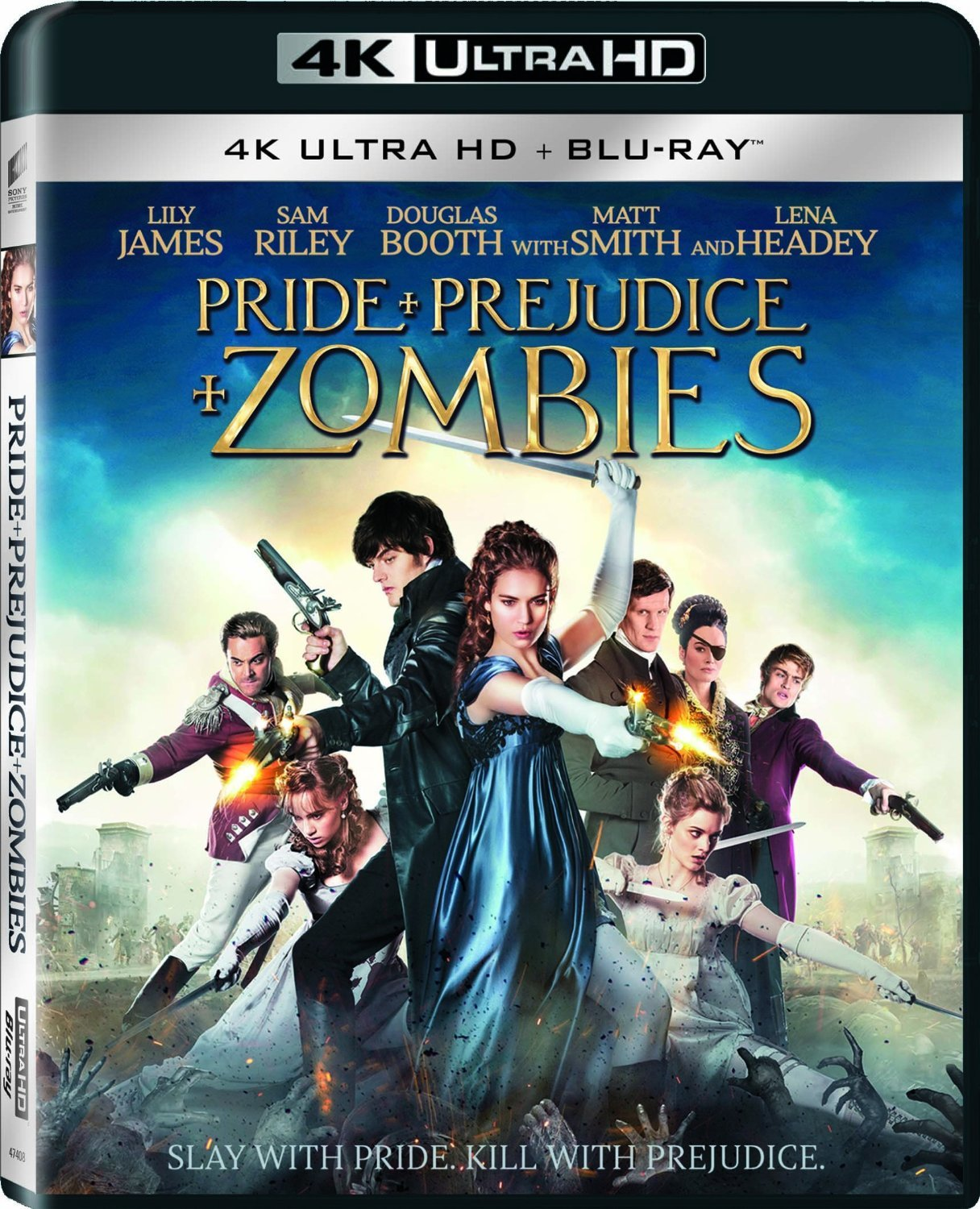 Pride and Prejudice and Zombies (2016) 4K Ultra HD Blu-ray