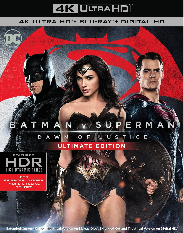 Batman v Superman: Dawn of Justice 4K (2016) Ultra HD Blu-ray