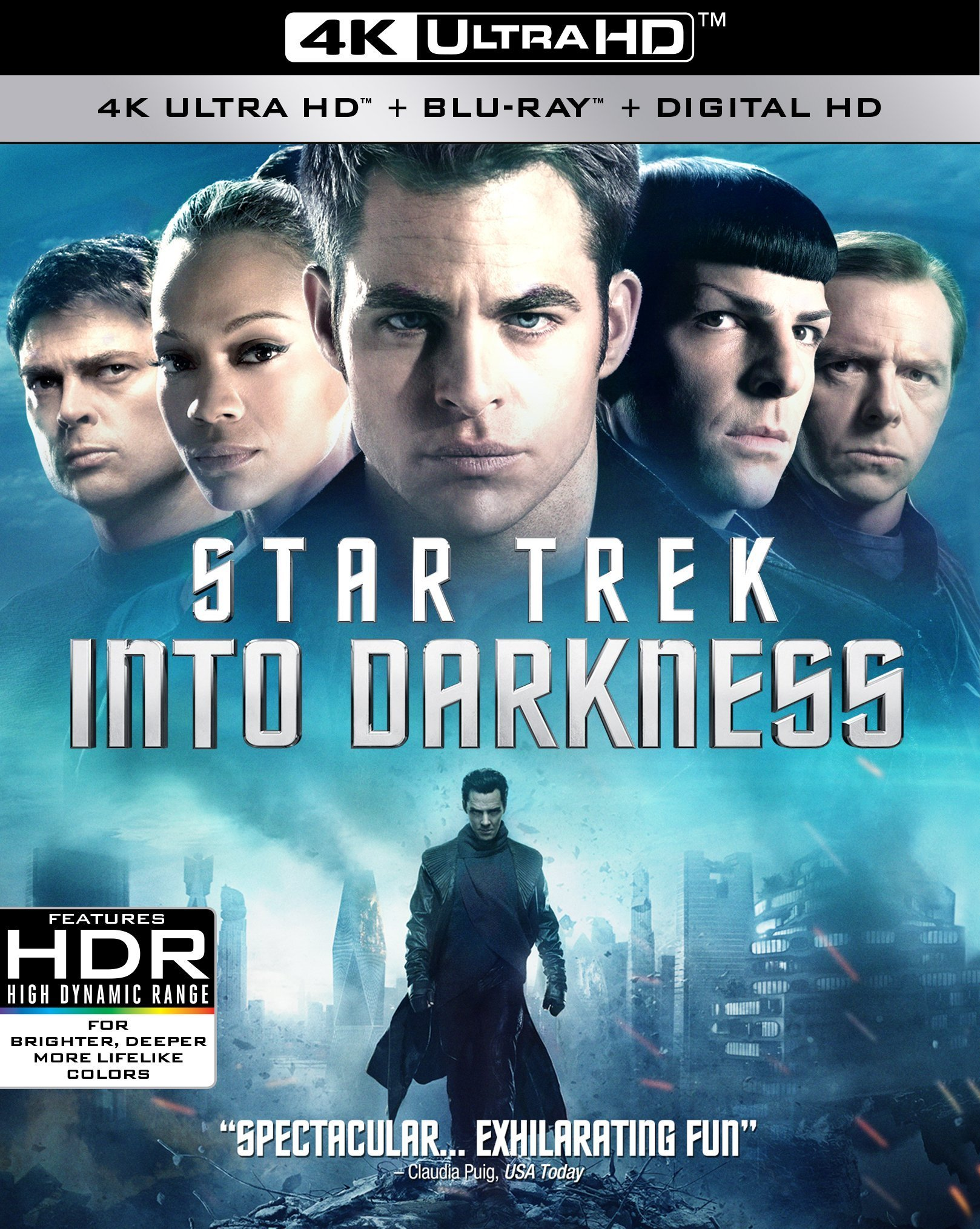 Star Trek Into Darkness (2013) 4K Ultra HD Blu-ray