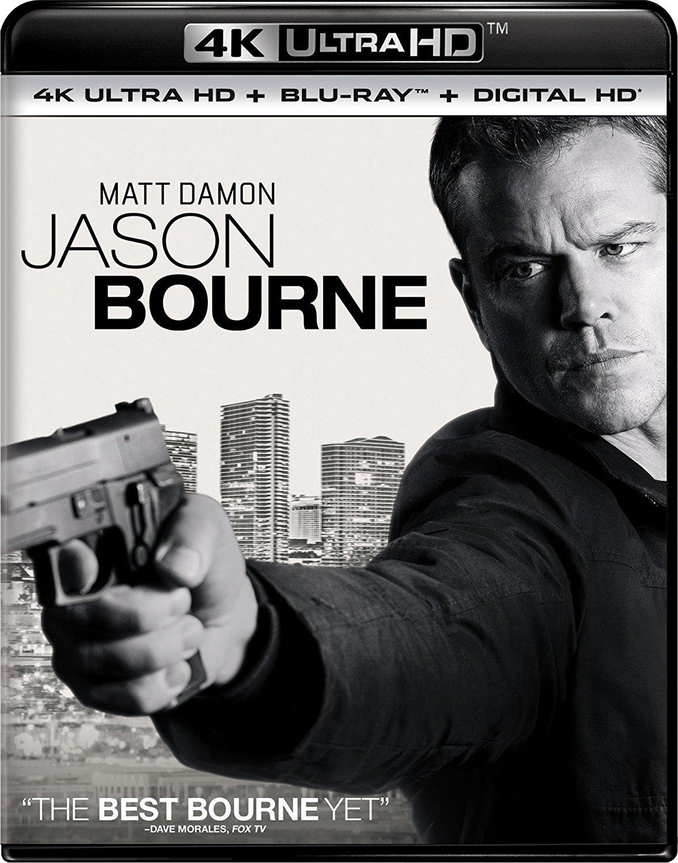 Jason Bourne 4K (2016) 4K Ultra HD Blu-ray