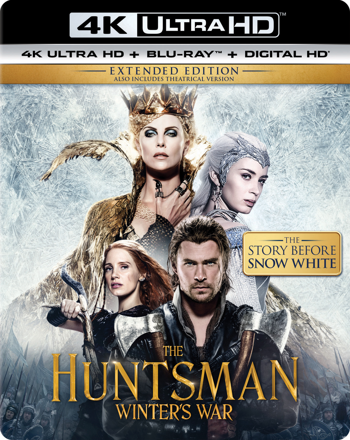 The Huntsman: Winters War (2016) 4K Ultra HD Blu-ray UHD
