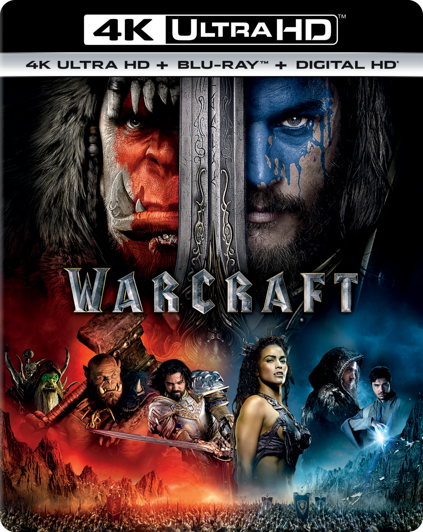 Warcraft 4K (2016) 4K Ultra HD Blu-ray