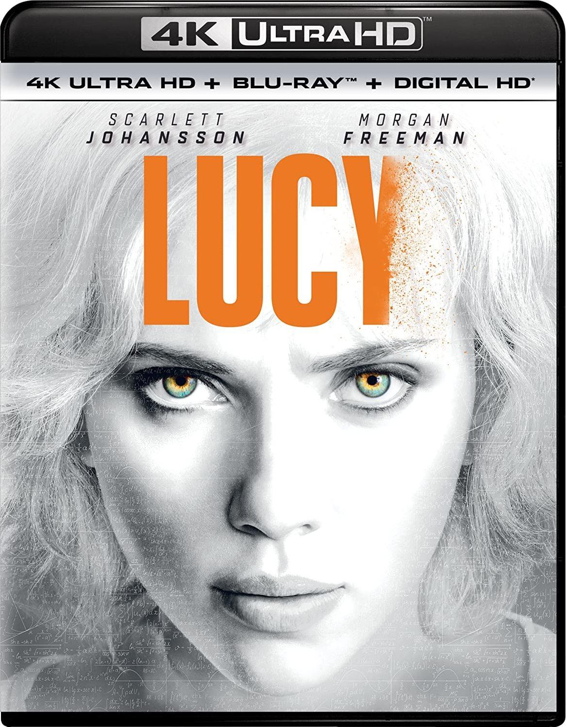 Lucy (2014) 4K Ultra HD Blu-ray