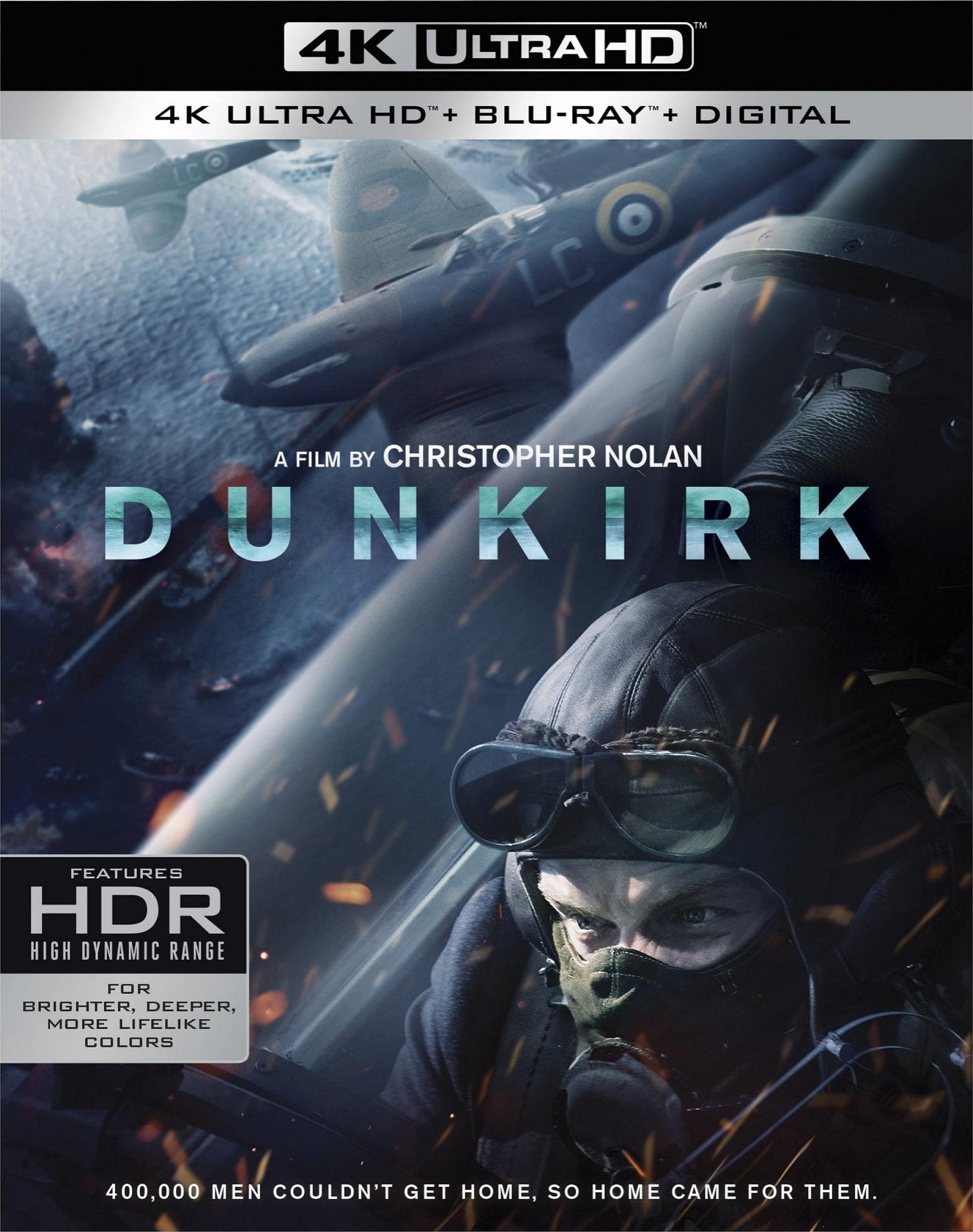 Dunkirk 4K (2017) UHD Ultra HD Blu-ray