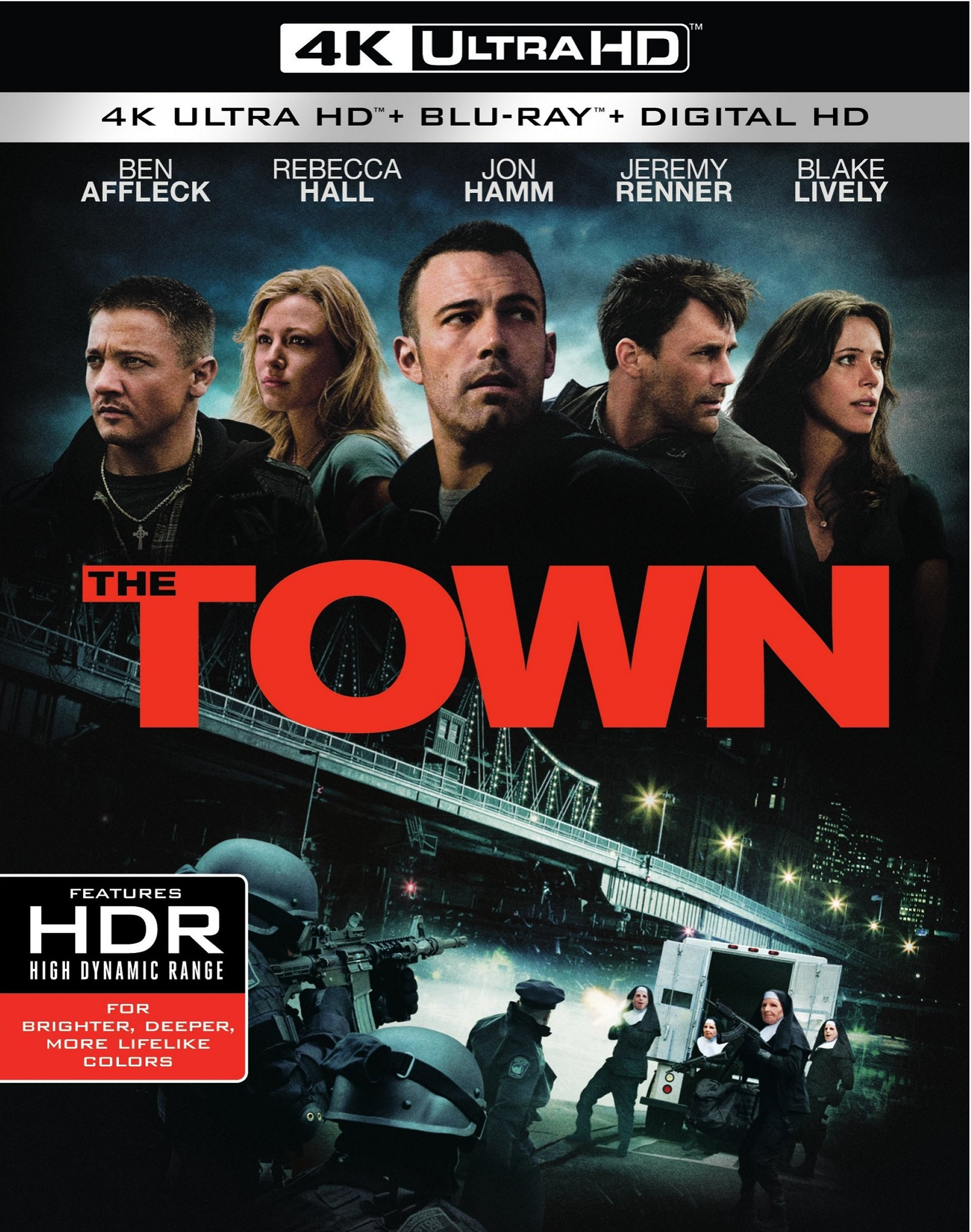 The Town 4K (2010) Ultra HD Blu-ray