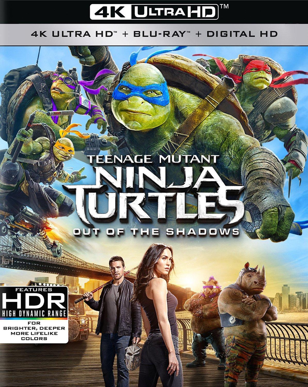 Teenage Mutant Ninja Turtles: Out of the Shadows (2016) 4K Ultra HD Blu-ray