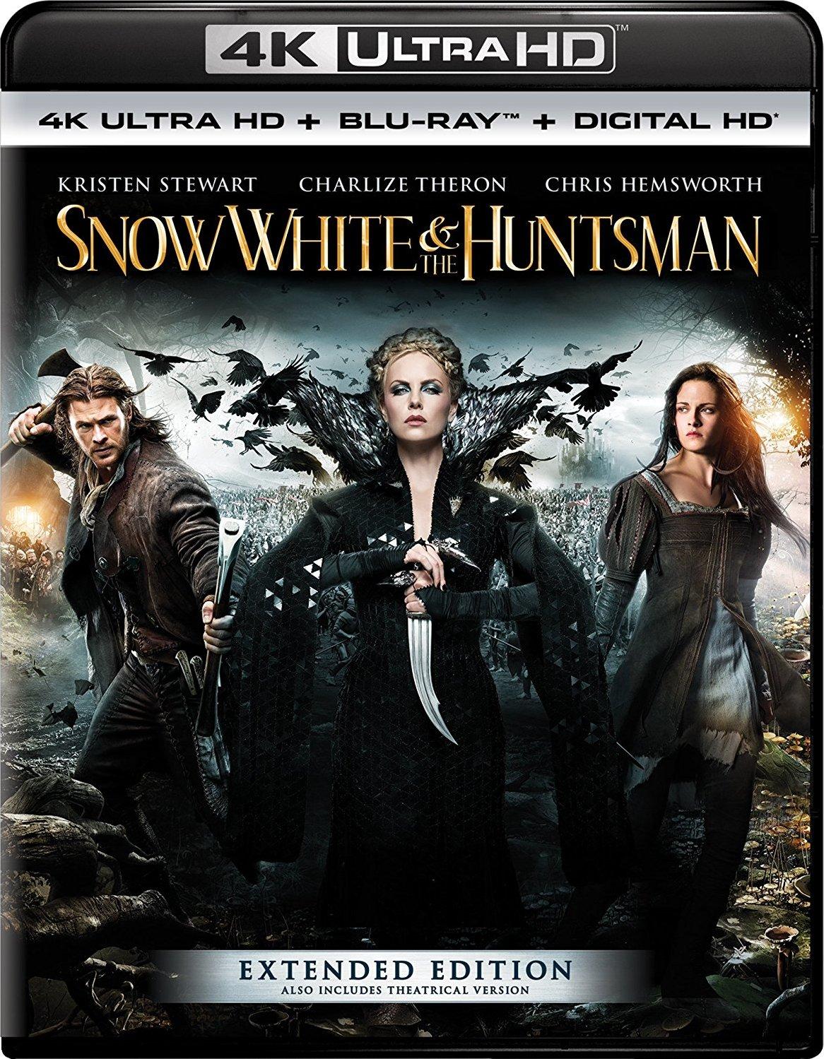 Snow White and the Huntsman (2012) 4K Ultra HD Blu-ray