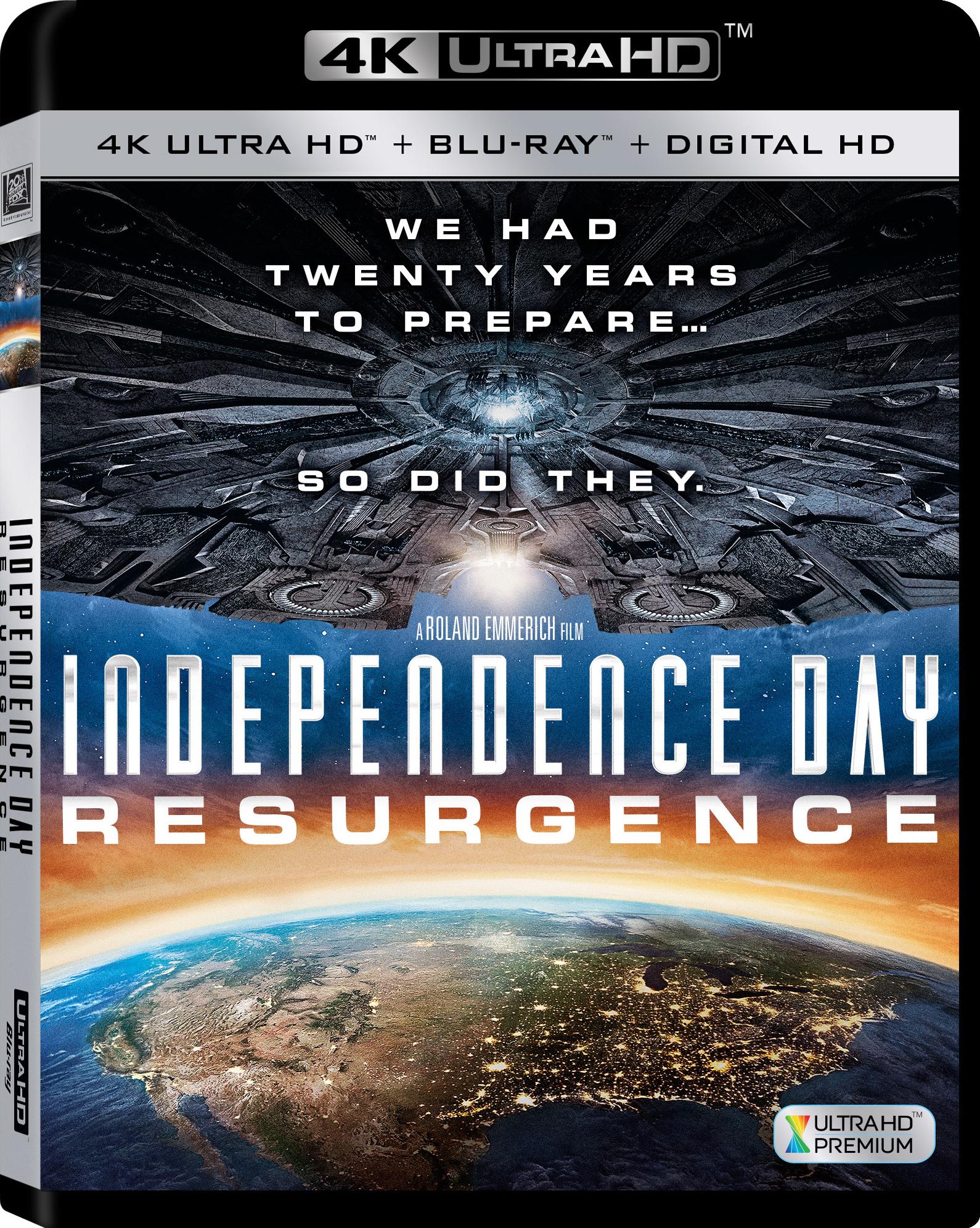 Independence Day: Resurgence 4K (2016) 4K Ultra HD Blu-ray