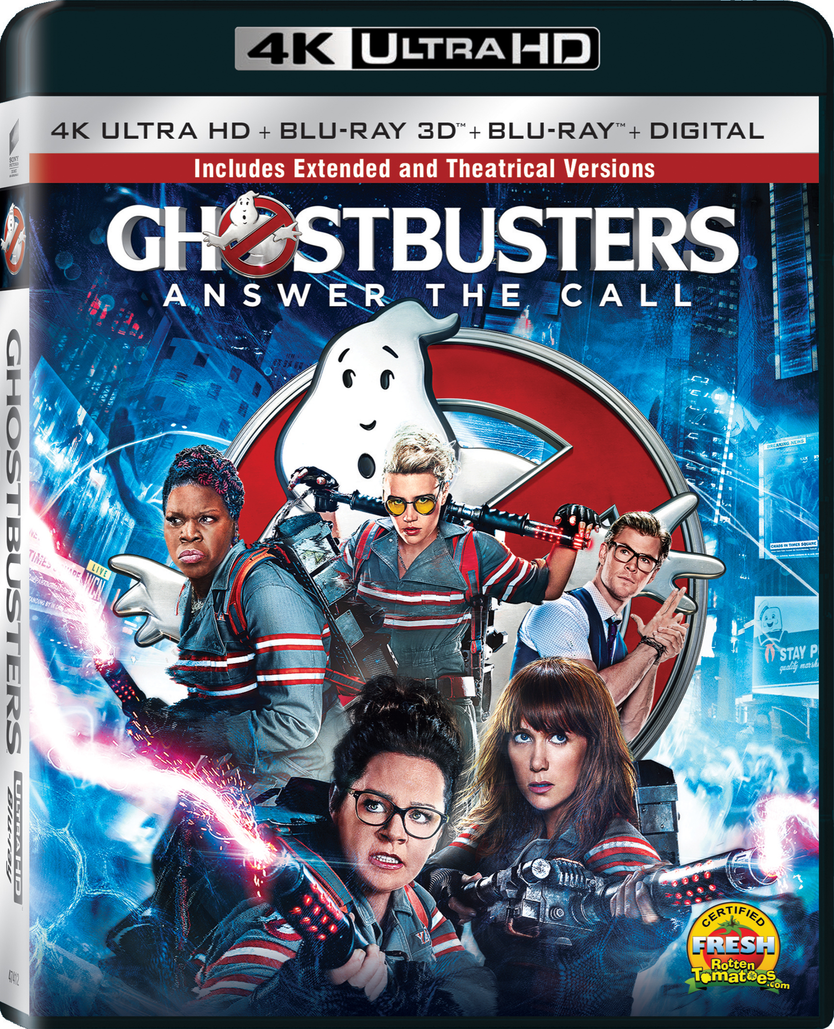 Ghostbusters (2016) 4K Ultra HD Blu-ray