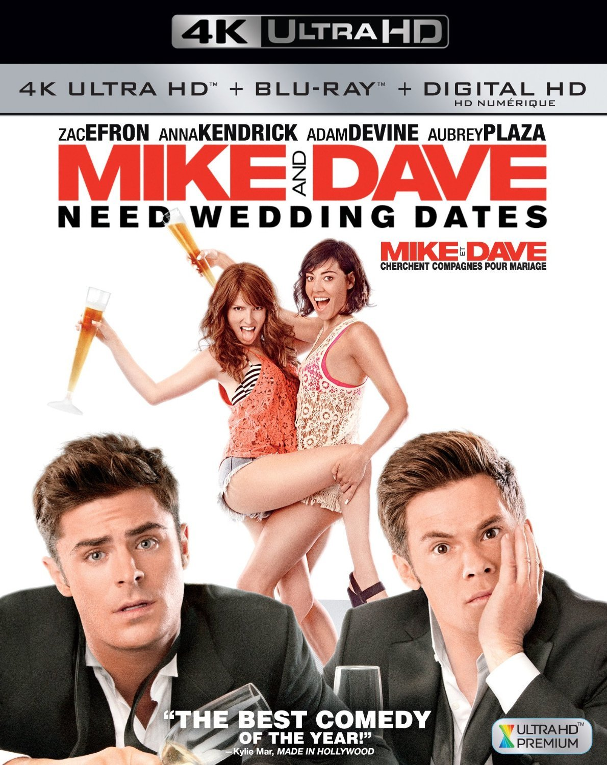 Mike and Dave Need Wedding Dates (2016) 4K Ultra HD Blu-ray