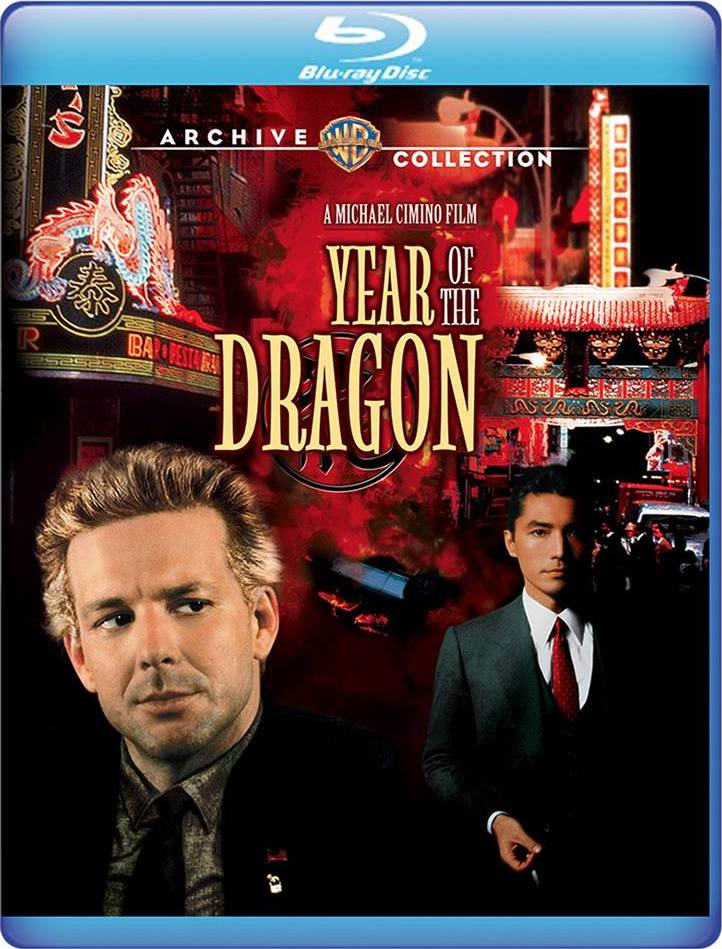 Year of the Dragon (Warner Archive Collection)(Blu-ray)(Region Free)(Pre-order / Feb 26)