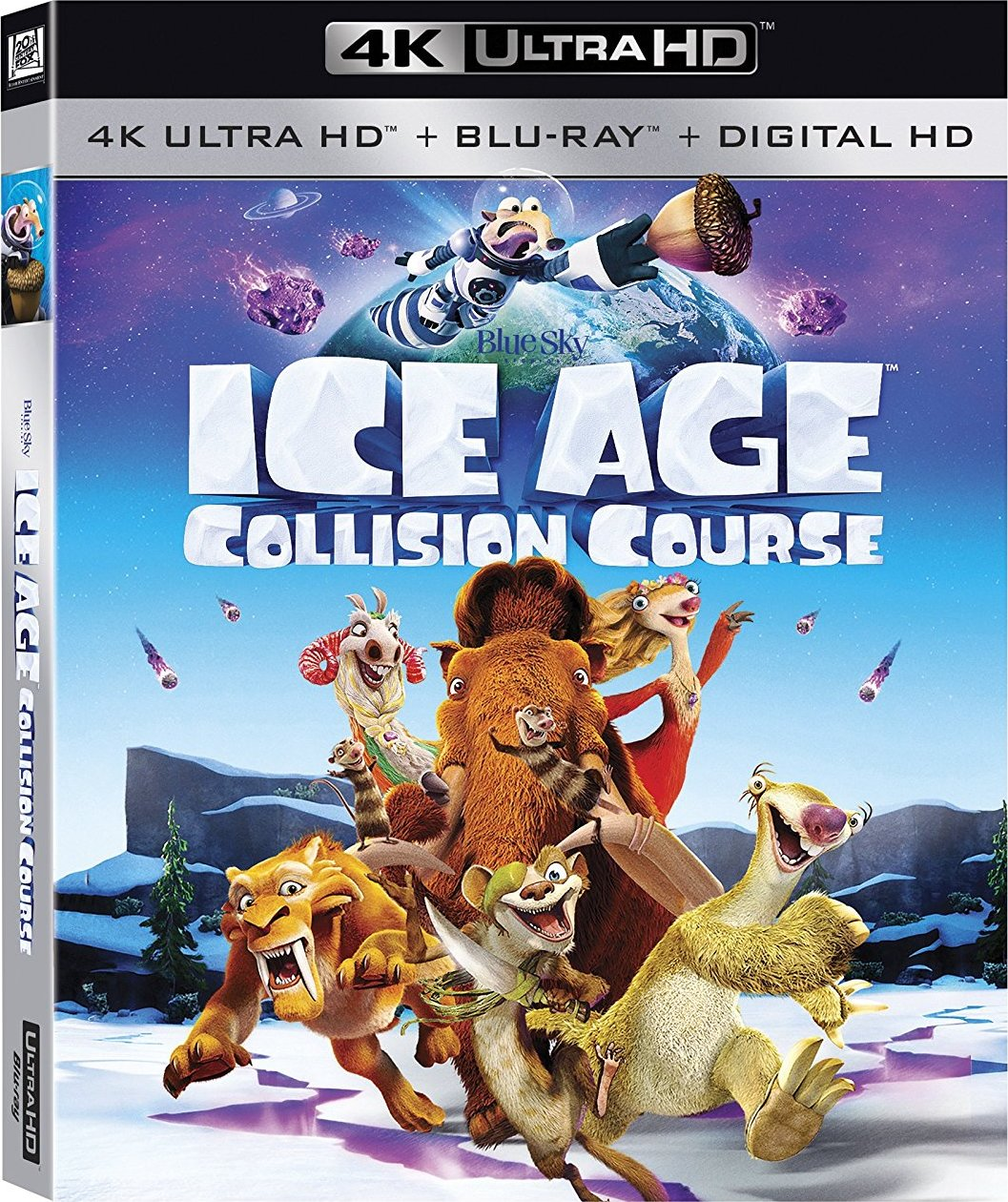 Ice Age: Collision Course (2016) 4K Ultra HD Blu-ray