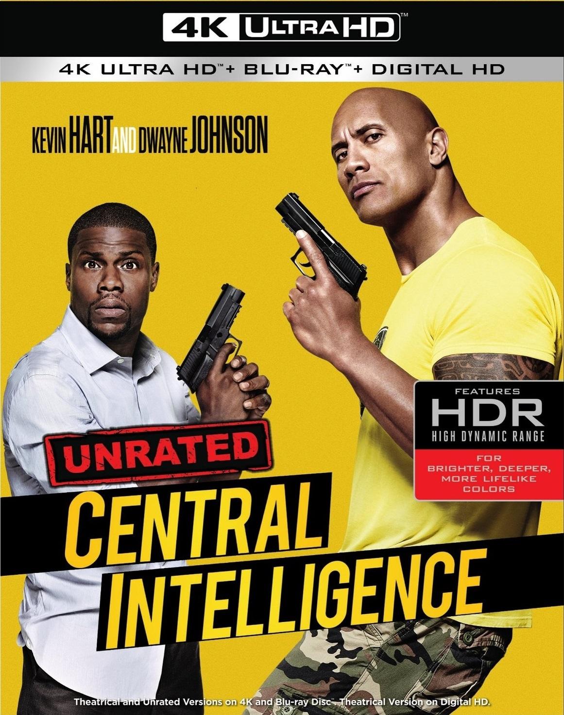 Central Intelligence 2016 4k Ultra Hd Blu Ray