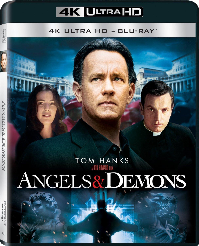 Angels & Demons (2009) 4K Ultra HD Blu-ray