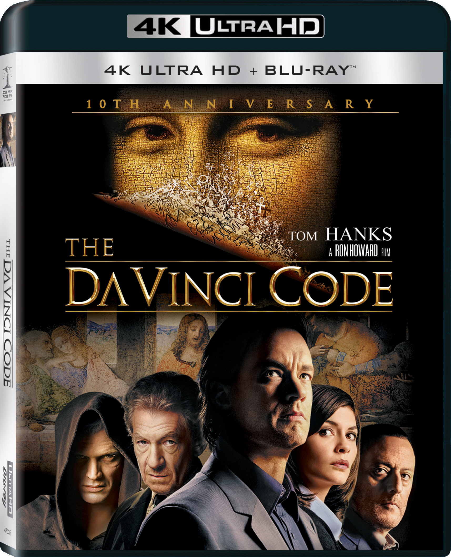 The Da Vinci Code 2006 4k Ultra Hd Blu Ray