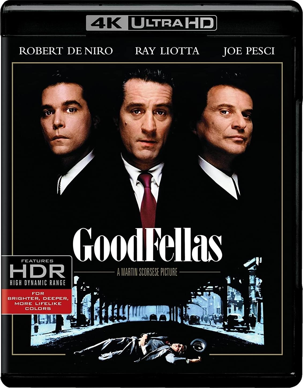 GoodFellas 4K (1990) 4K Ultra HD Blu-ray