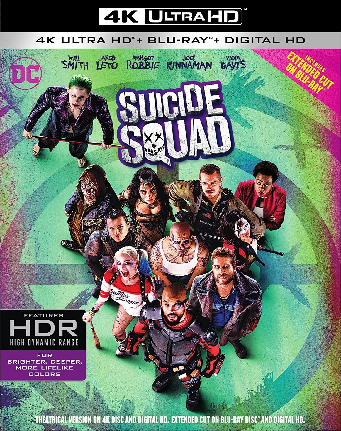 Suicide Squad 4K (2016) 4K Ultra HD Blu-ray