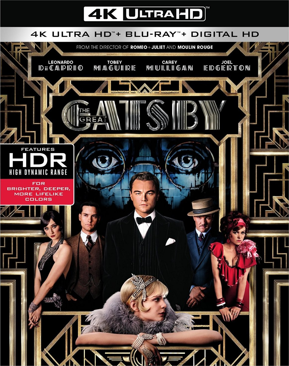 The Great Gatsby (2013) 4K Ultra HD Blu-ray