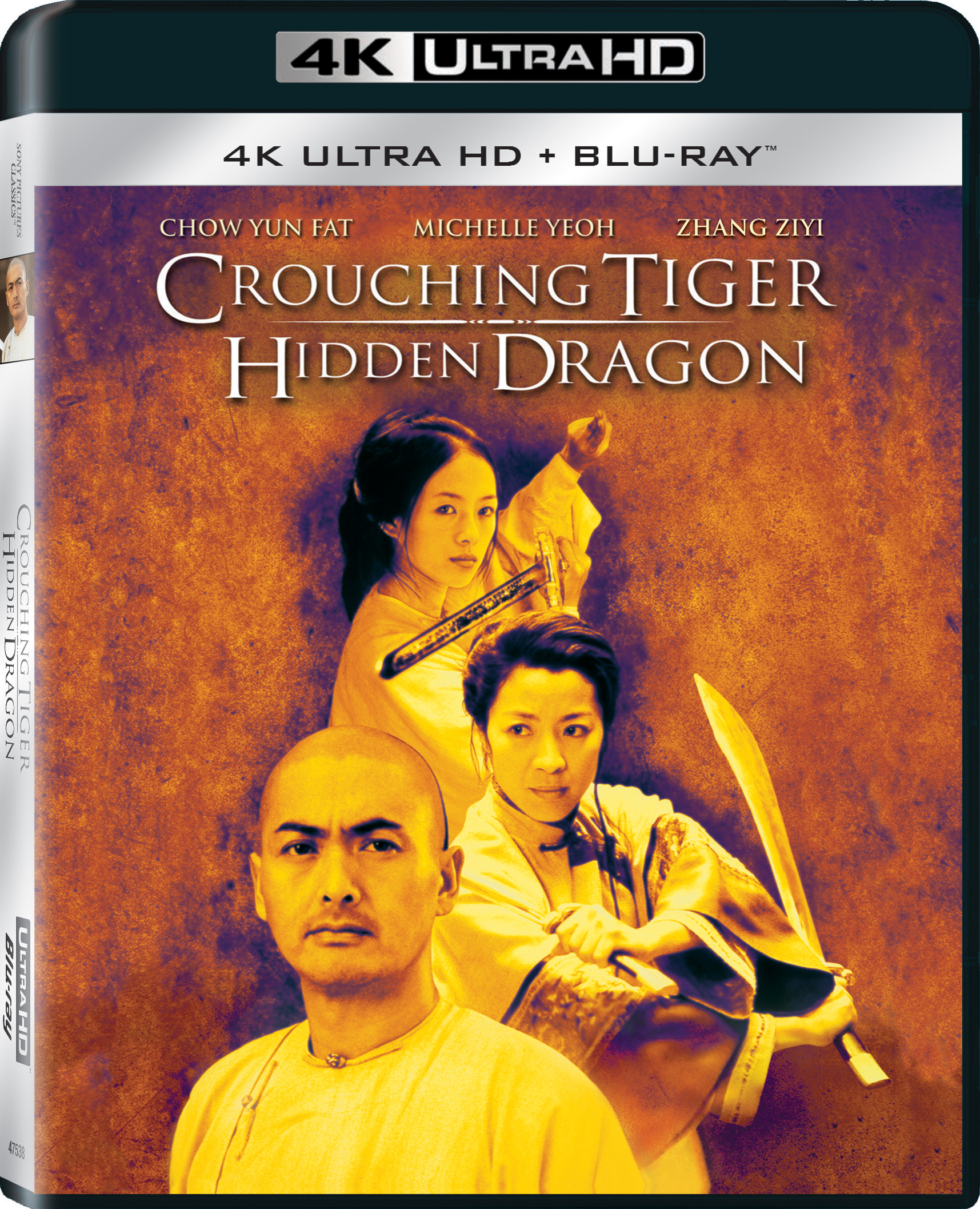 Crouching Tiger, Hidden Dragon (2000) 4K Ultra HD Blu-ray