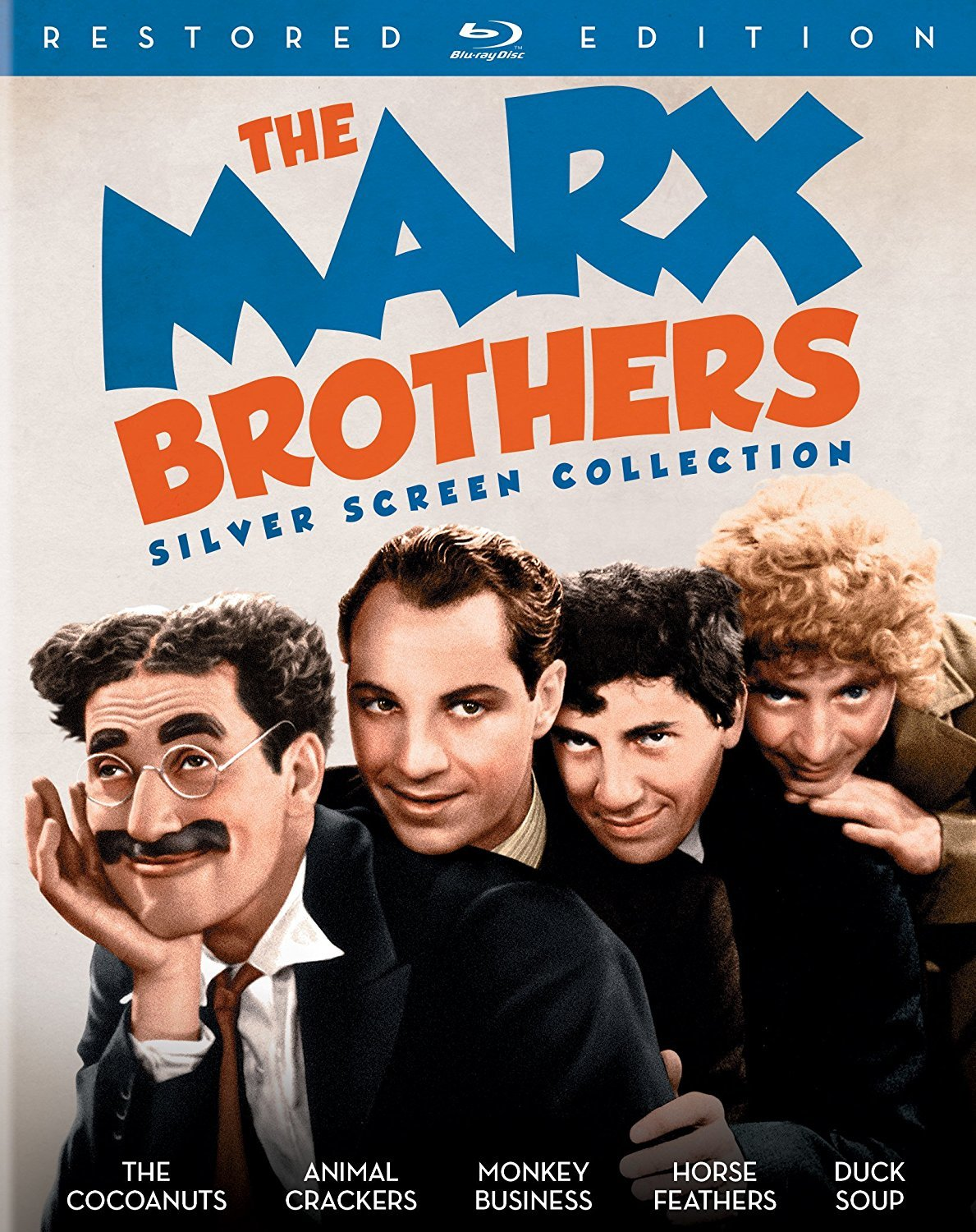 The Marx Brothers Silver Screen Collection (Restored Edition)(1929-1933) Blu-ray