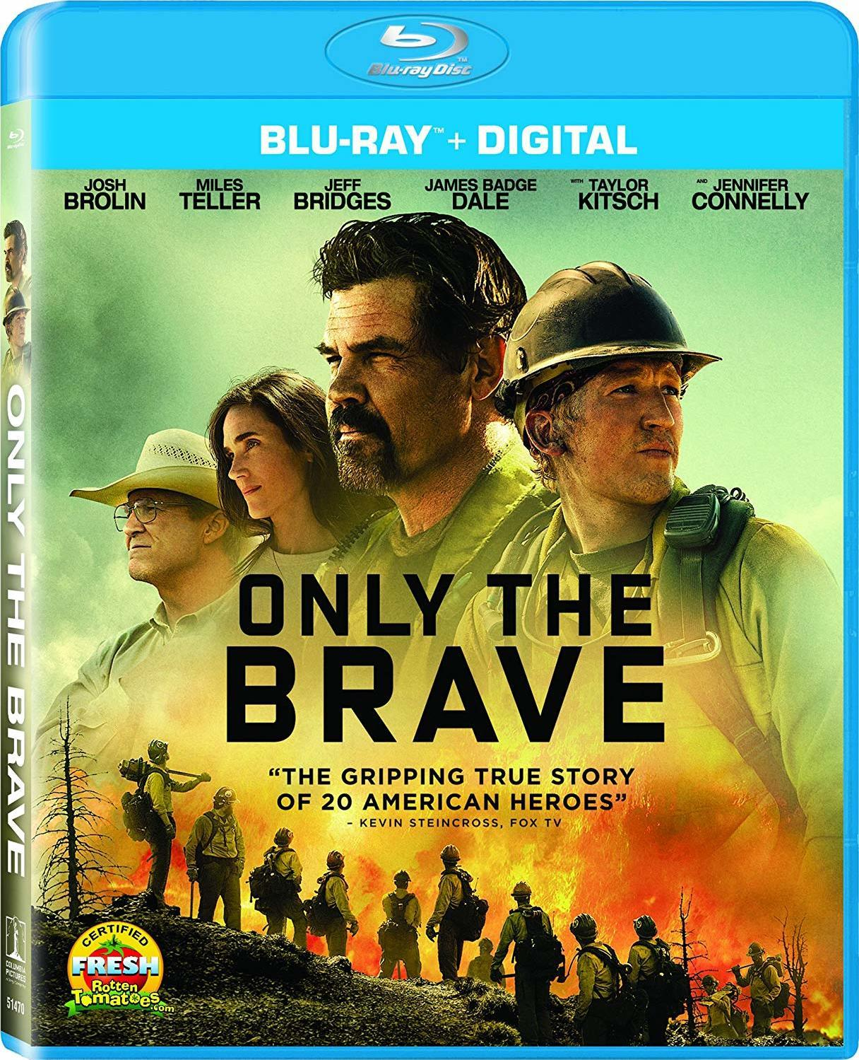 Only the Brave (2017) Blu-ray
