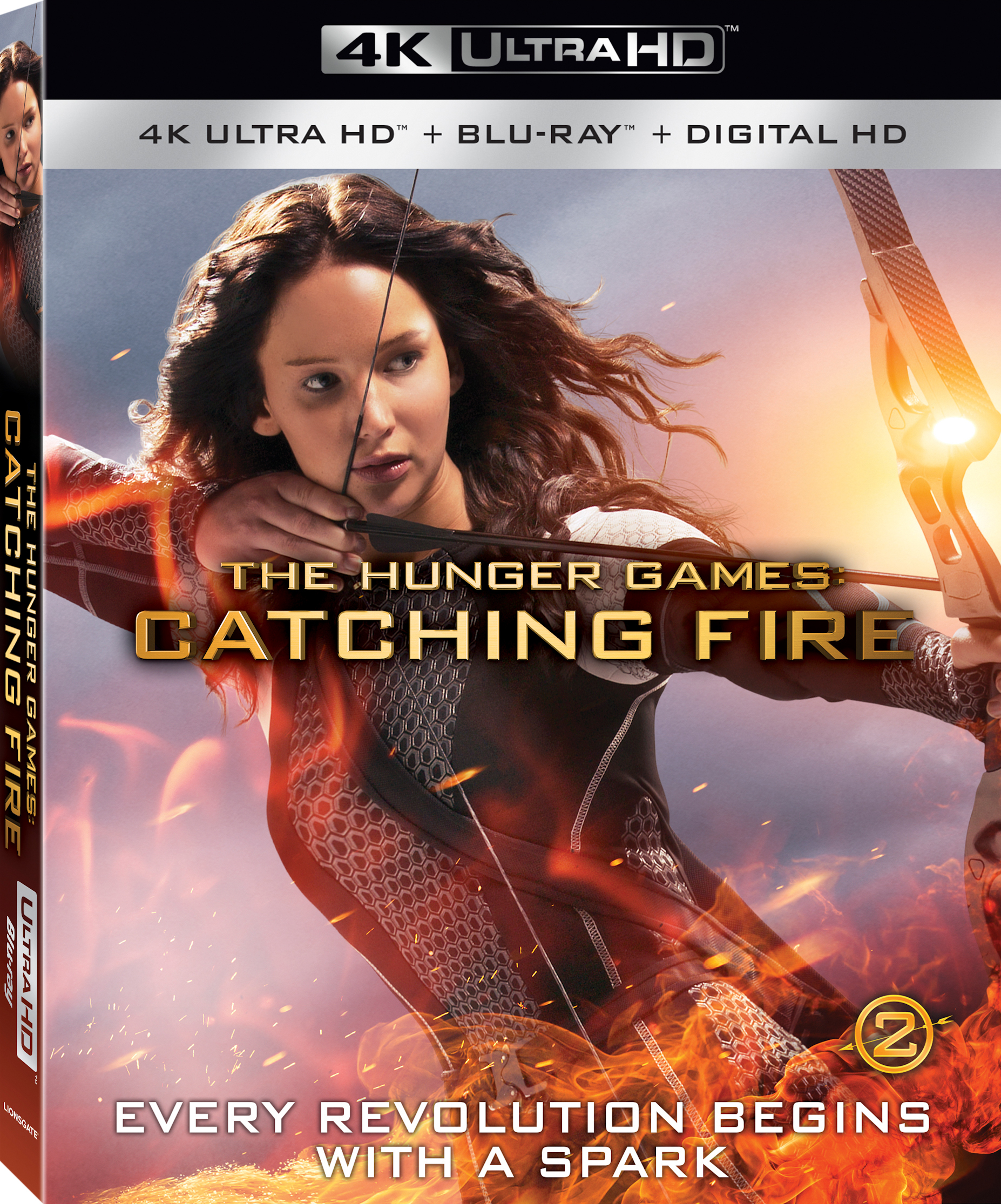 The Hunger Games: Catching Fire (2013) 4K Ultra HD Blu-ray