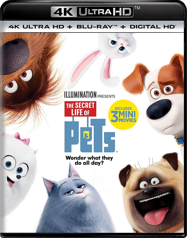 The Secret Life of Pets 4K (2016) 4K Ultra HD Blu-ray