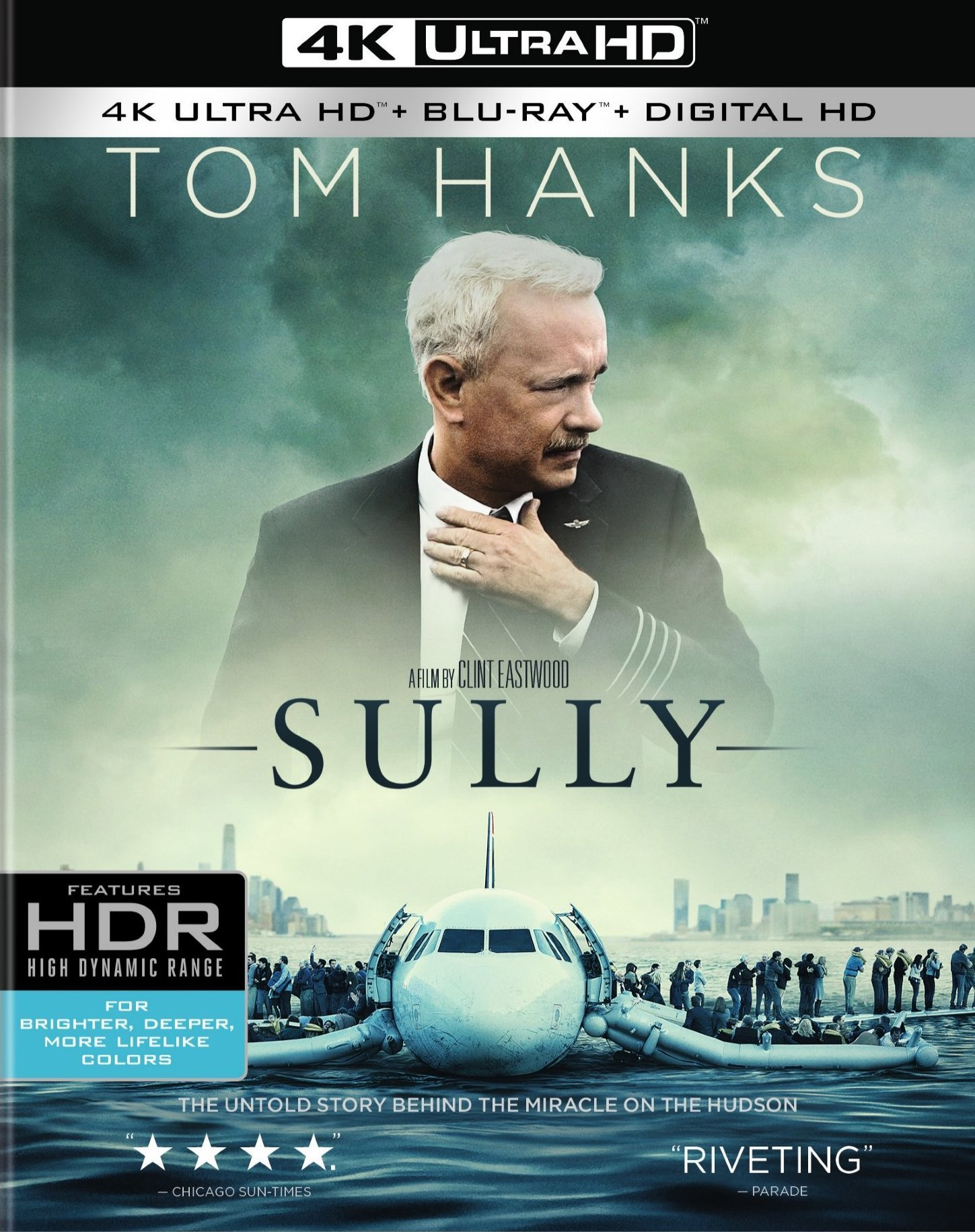 Sully 4K (2016) Ultra HD Blu-ray