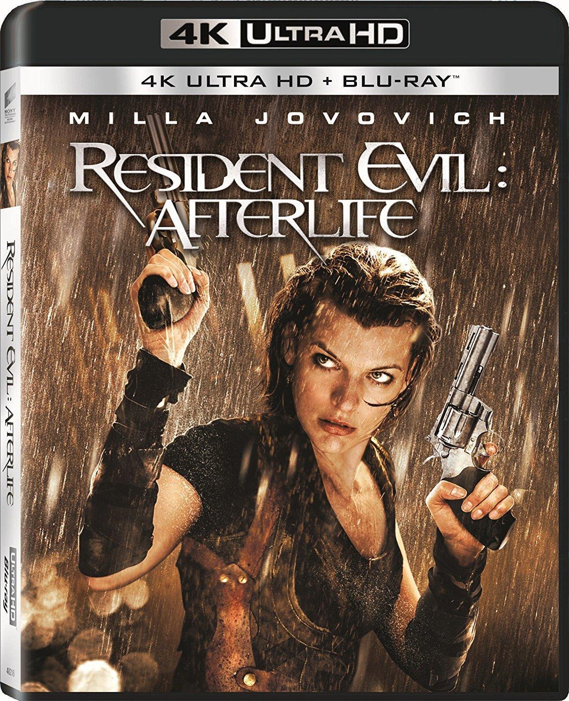 Resident Evil: Afterlife 4K (2010) Ultra HD Blu-ray