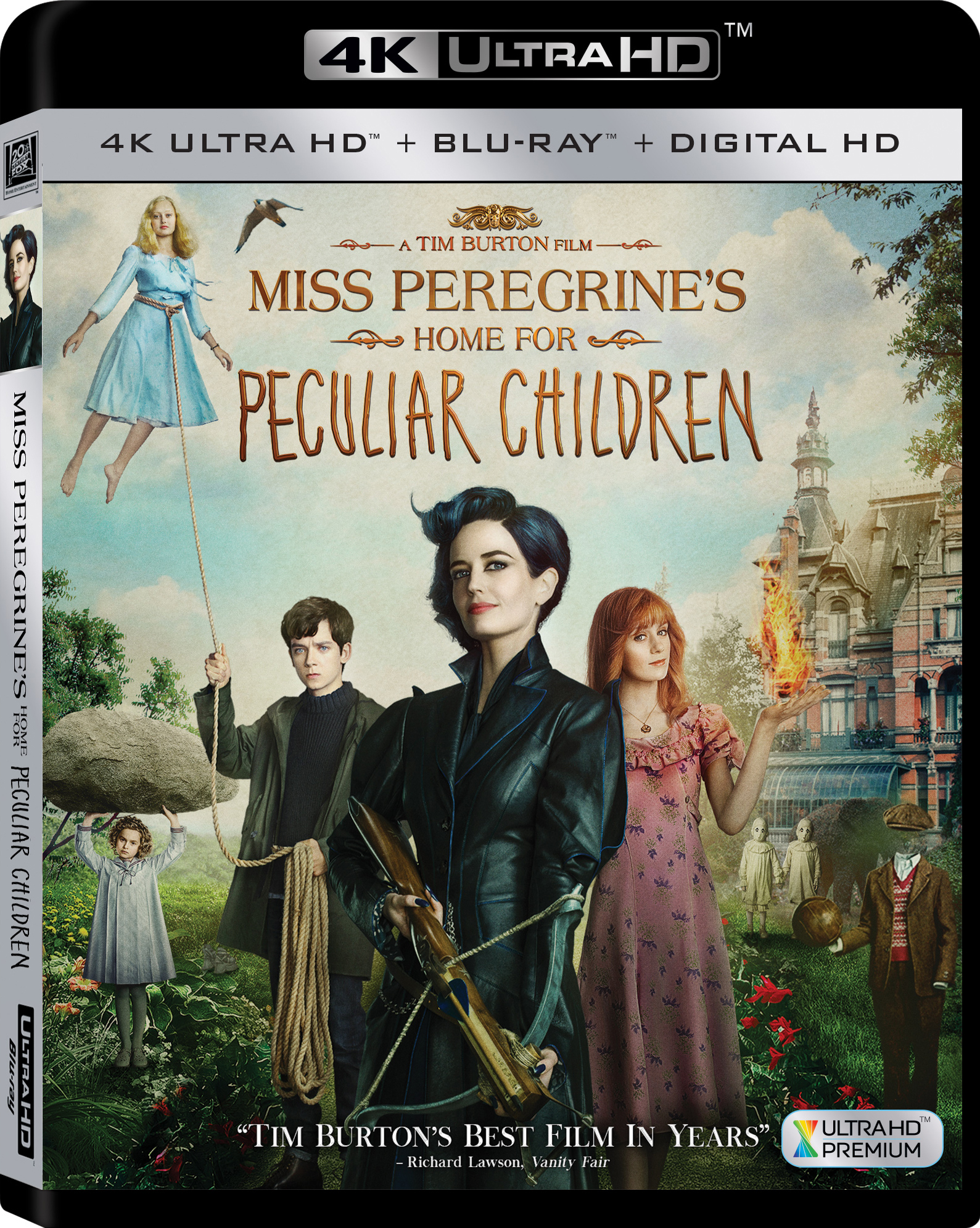 Miss Peregrines Home for Peculiar Children 4K (2016) Ultra HD Blu-ray