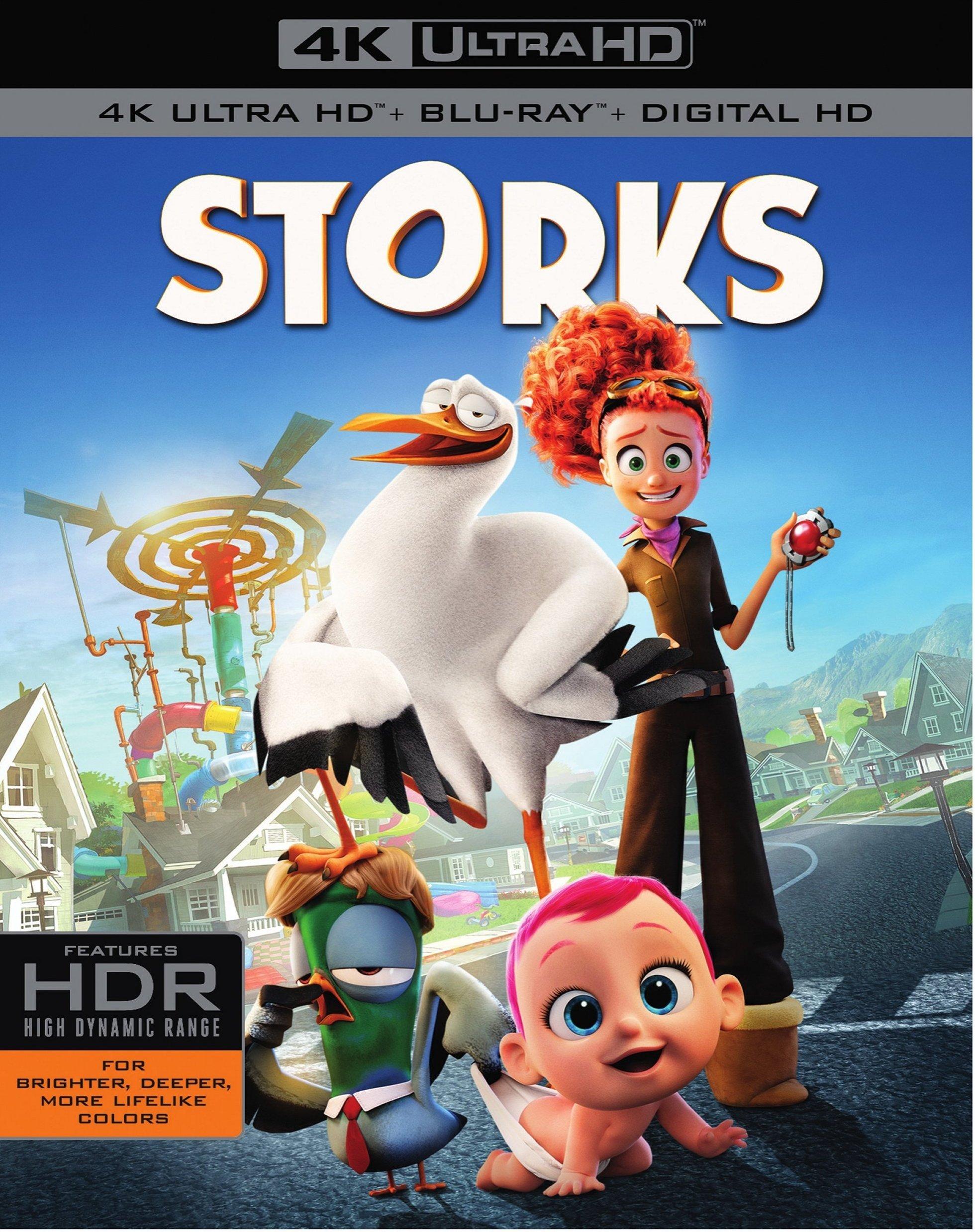 Storks 4K (2016) 4K Ultra HD Blu-ray