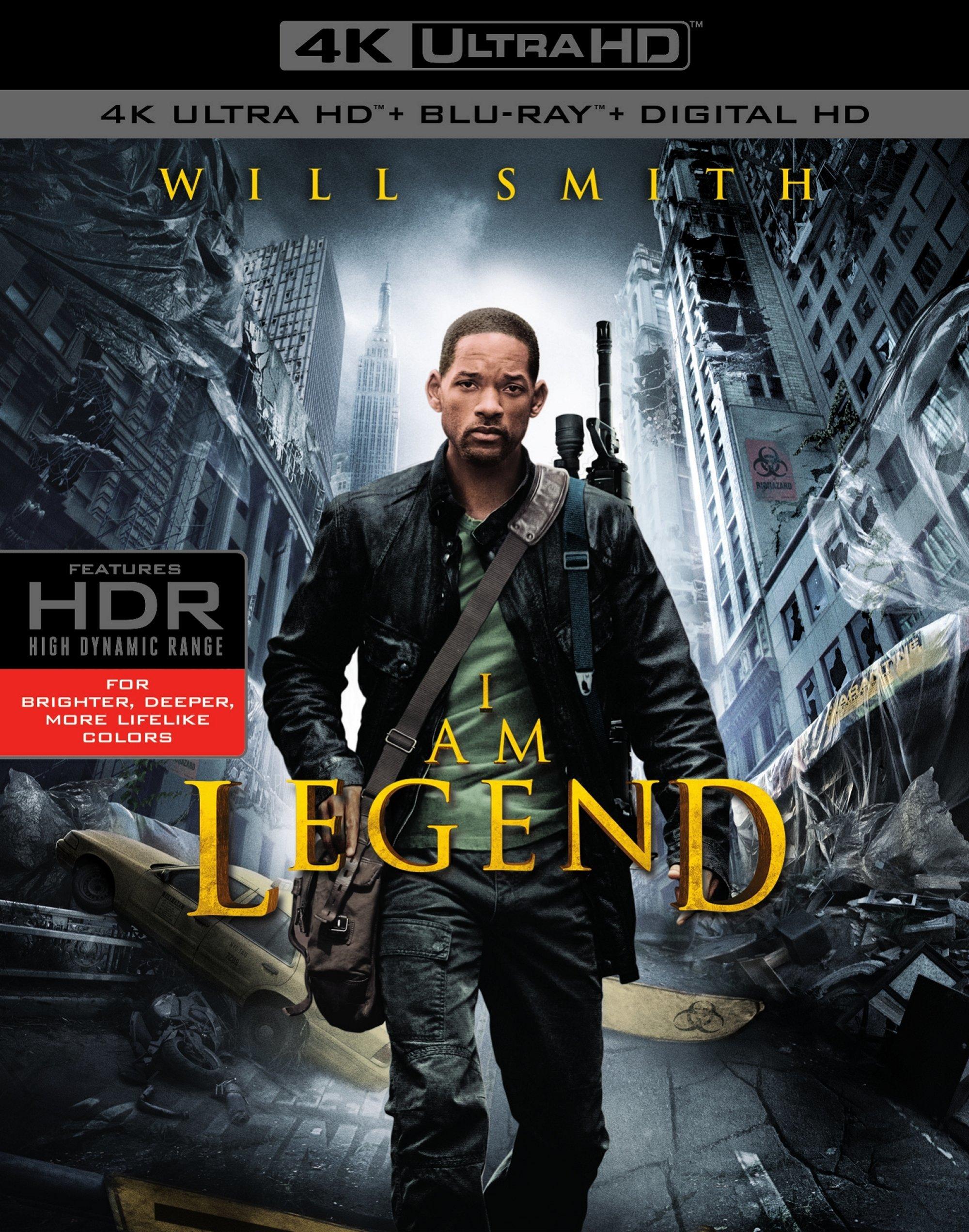 I Am Legend 4K (2007) 4K Ultra HD Blu-ray