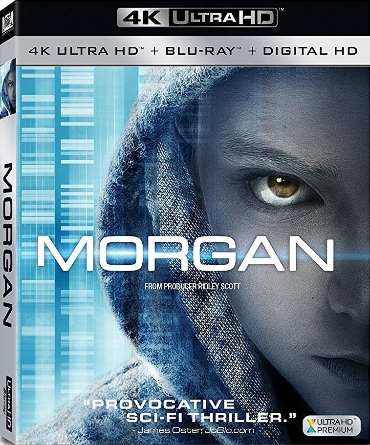 Morgan (2016) 4K Ultra HD Blu-ray