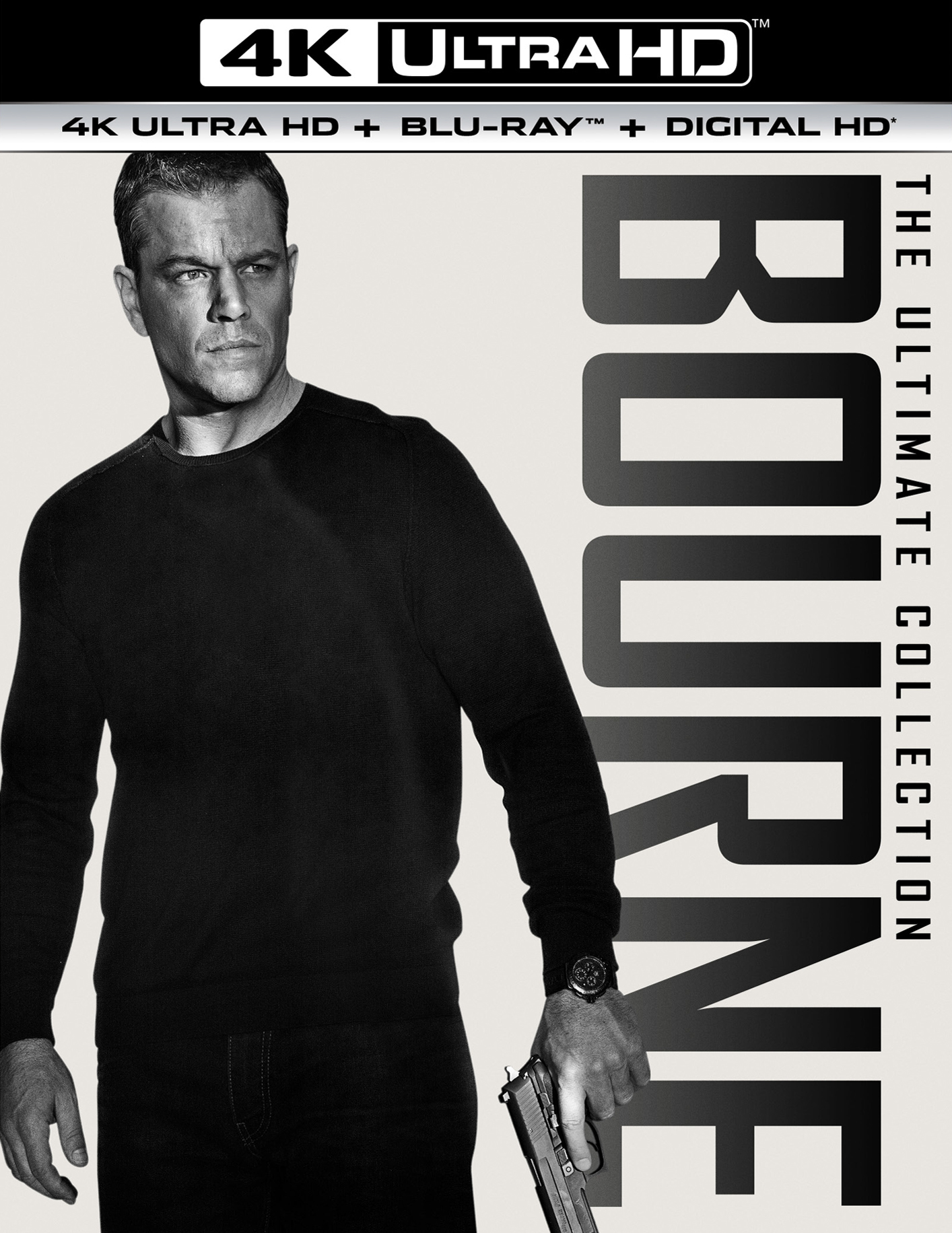 Bourne: The Ultimate Collection 4K (2002-2016) UHD Ultra HD Blu-ray