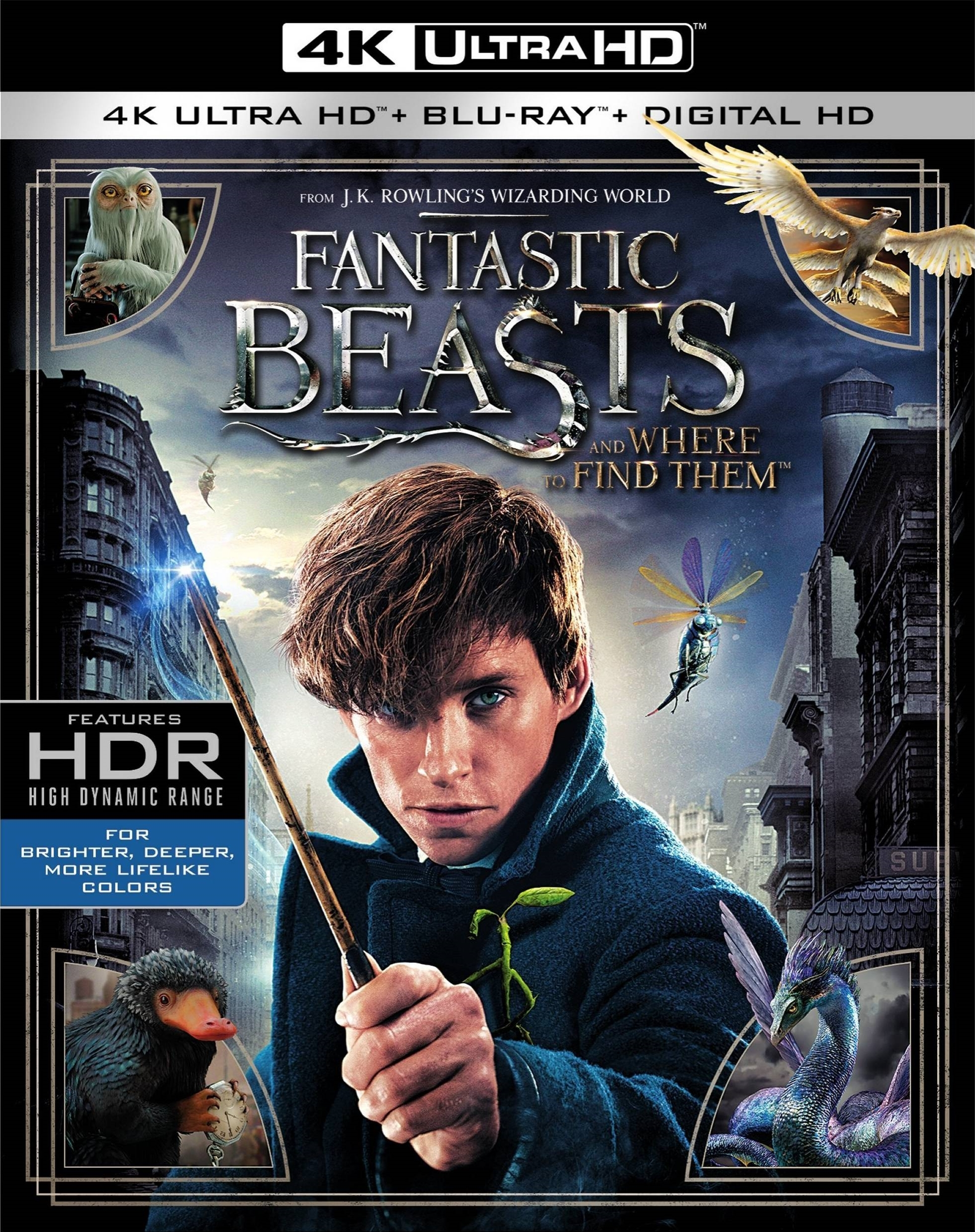 Fantastic Beasts and Where to Find Them 4K (2016) Ultra HD Blu-ray