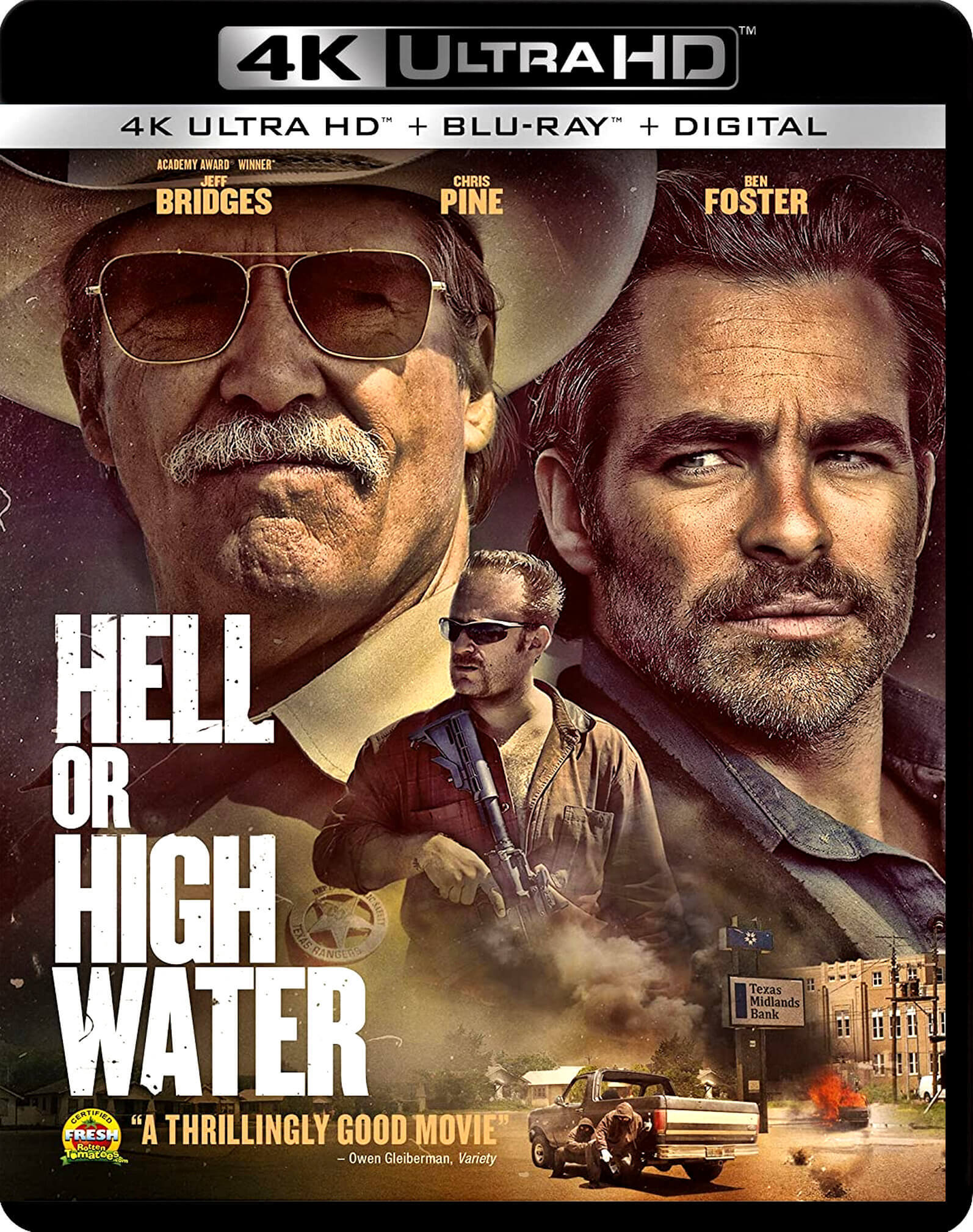 Hell or High Water 4K (2016) UHD Ultra HD Blu-ray