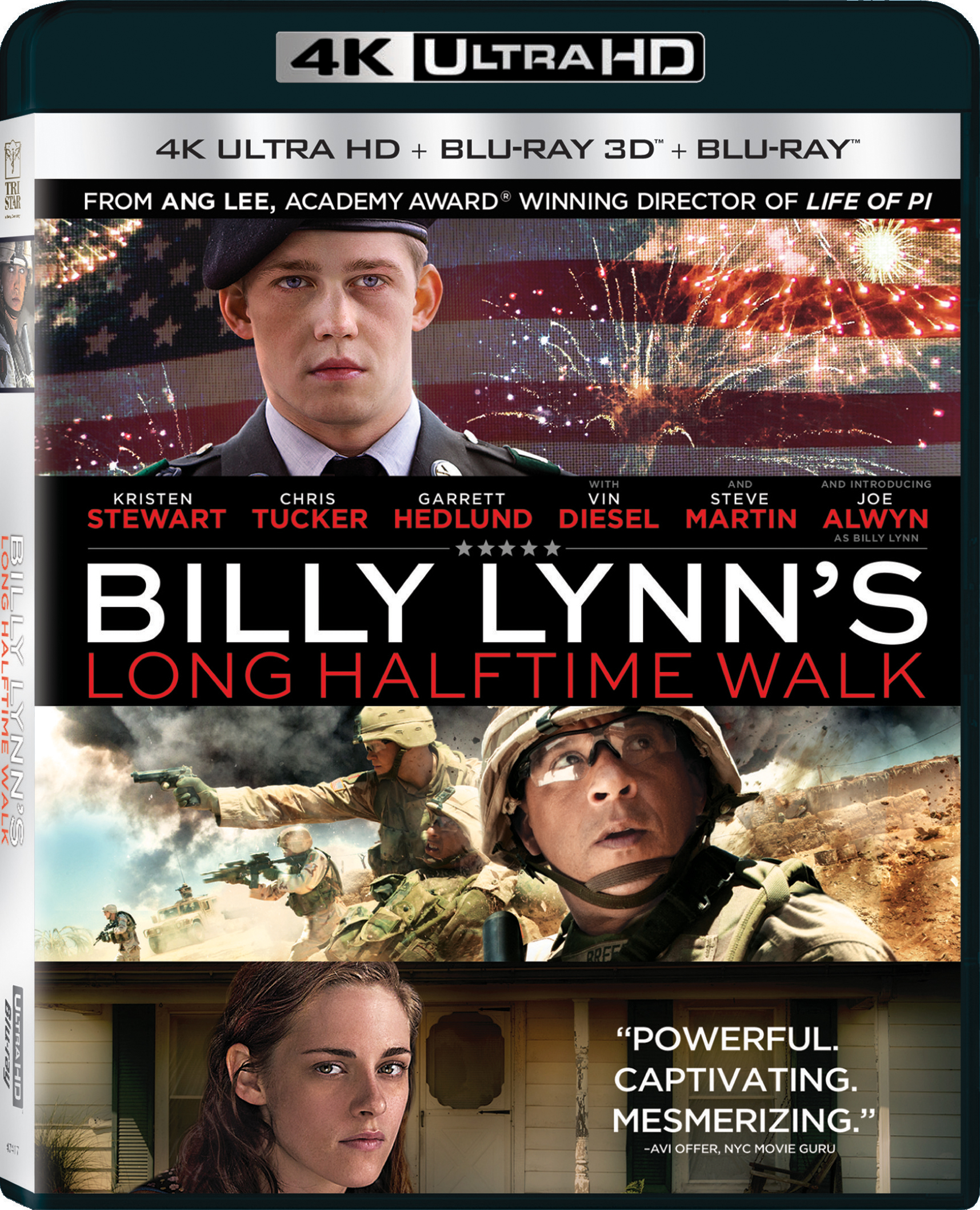 Billy Lynns Long Halftime Walk 4K (2016) Ultra HD Blu-ray