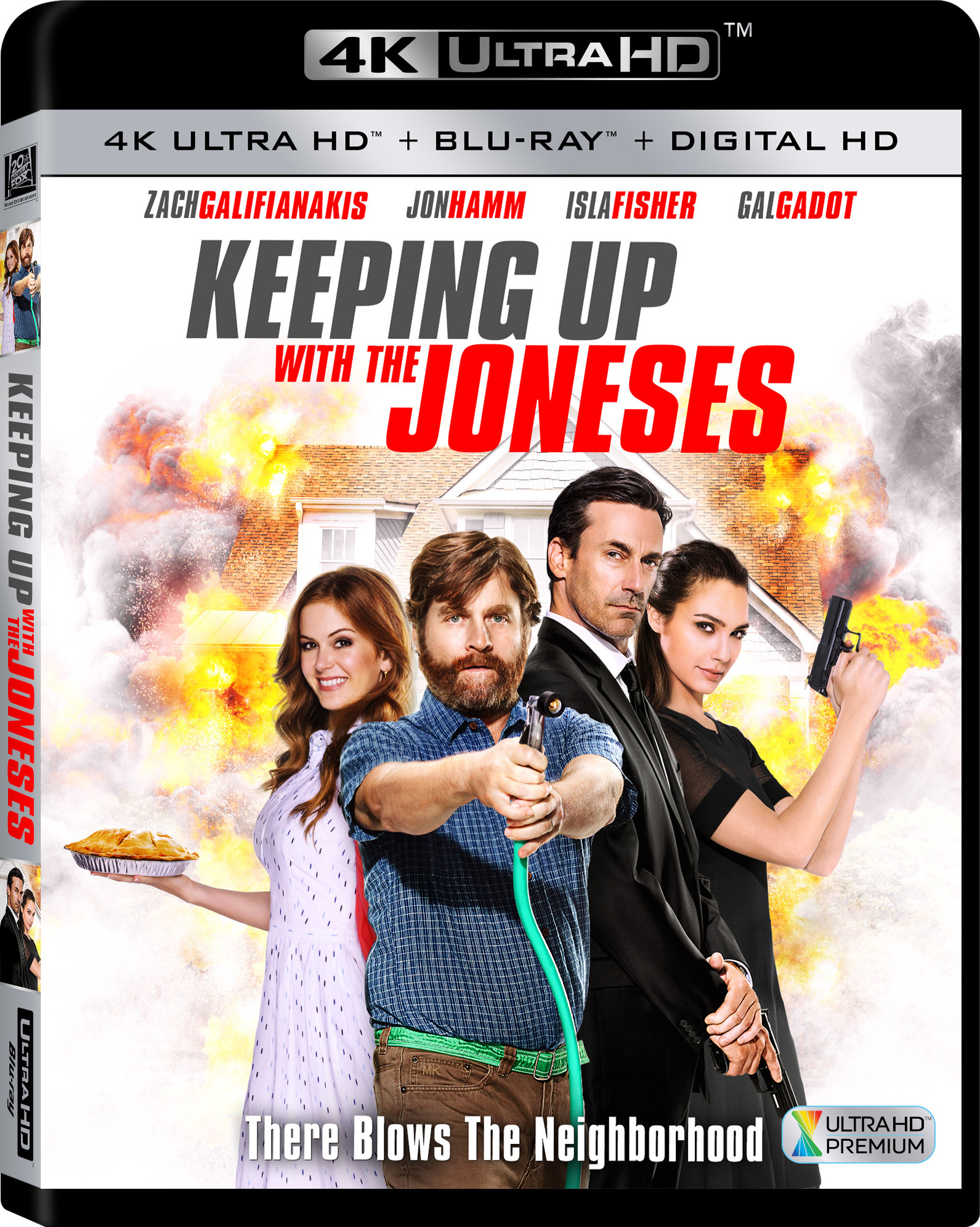 Keeping Up with the Joneses 4K (2016) Ultra HD Blu-ray