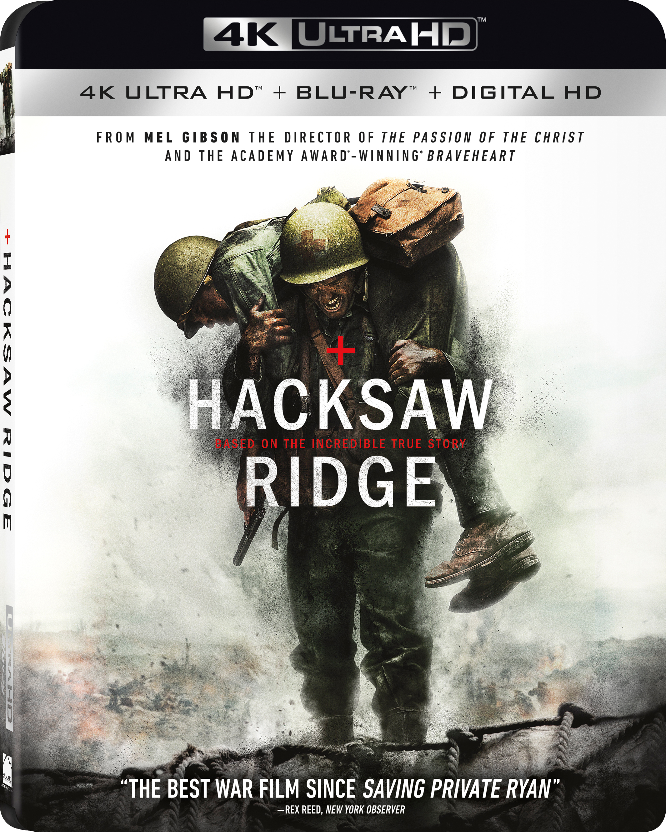 Hacksaw Ridge 4K (2016) 4K Ultra HD Blu-ray